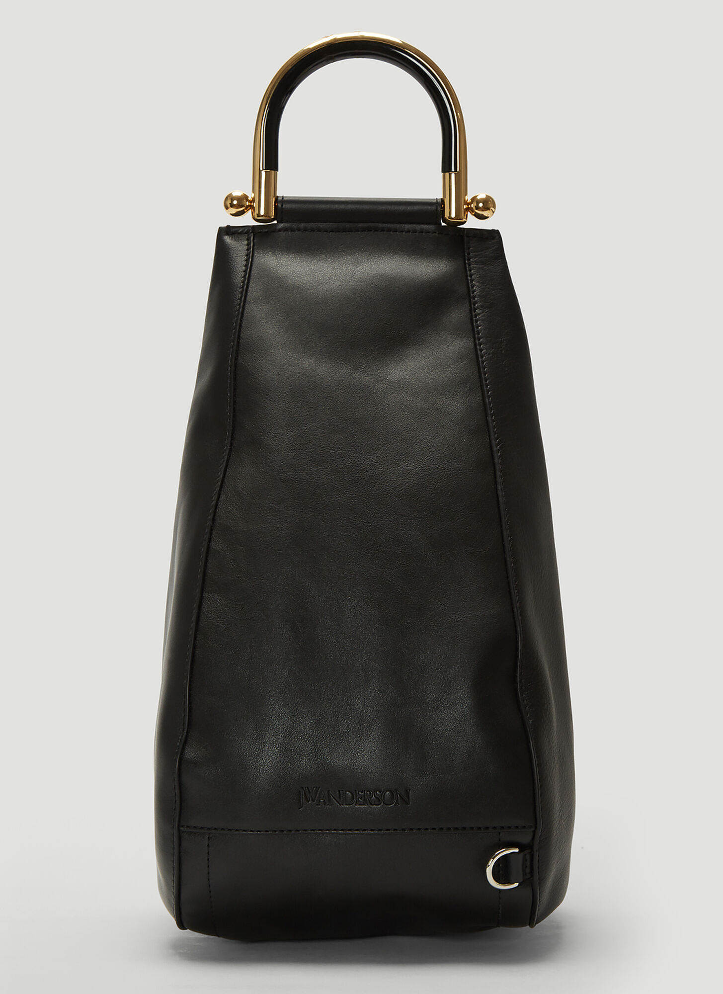 JW Anderson Wedge Shoulder Bag in Black