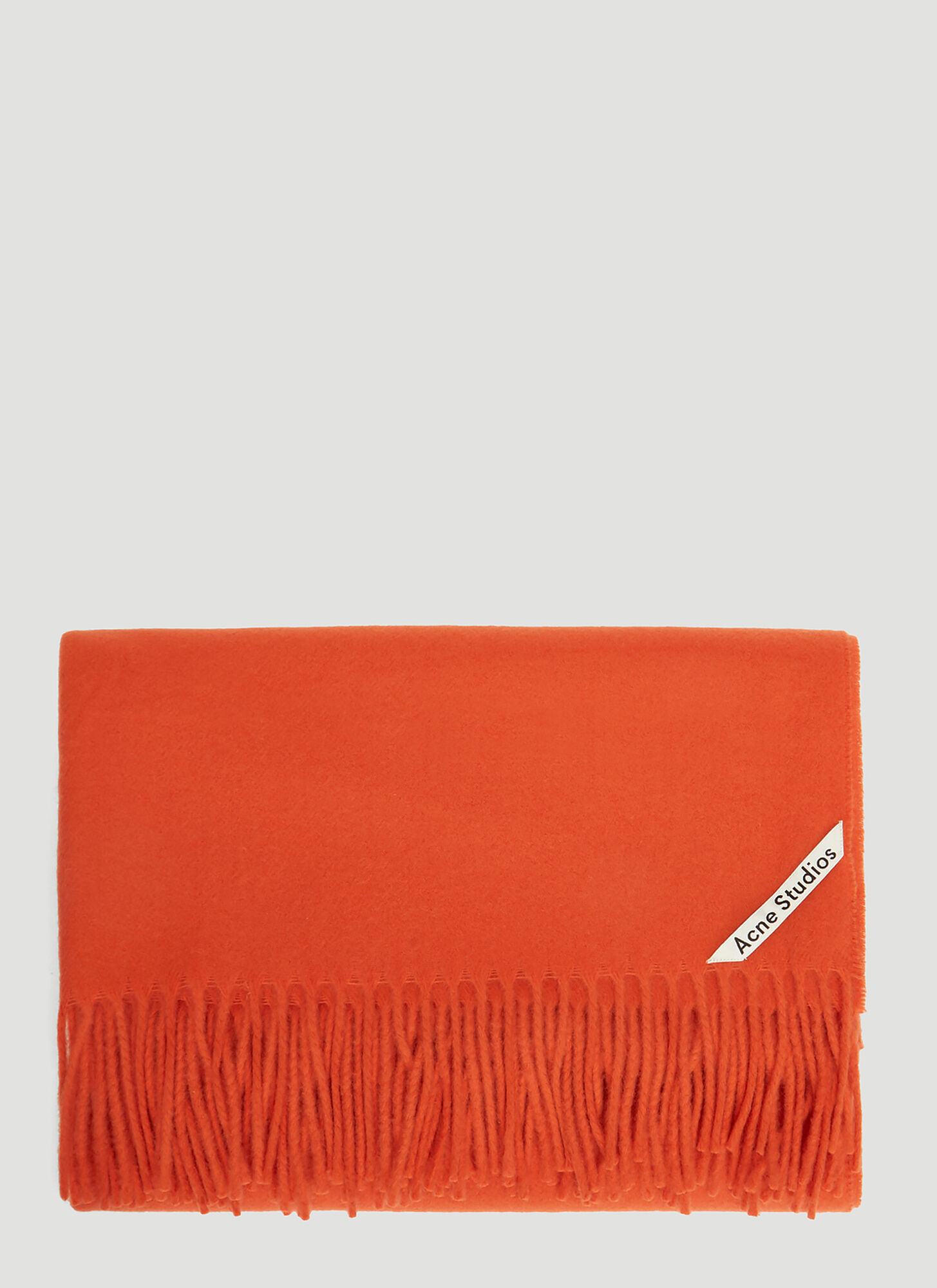 Acne Studios Canada New Scarf in Red