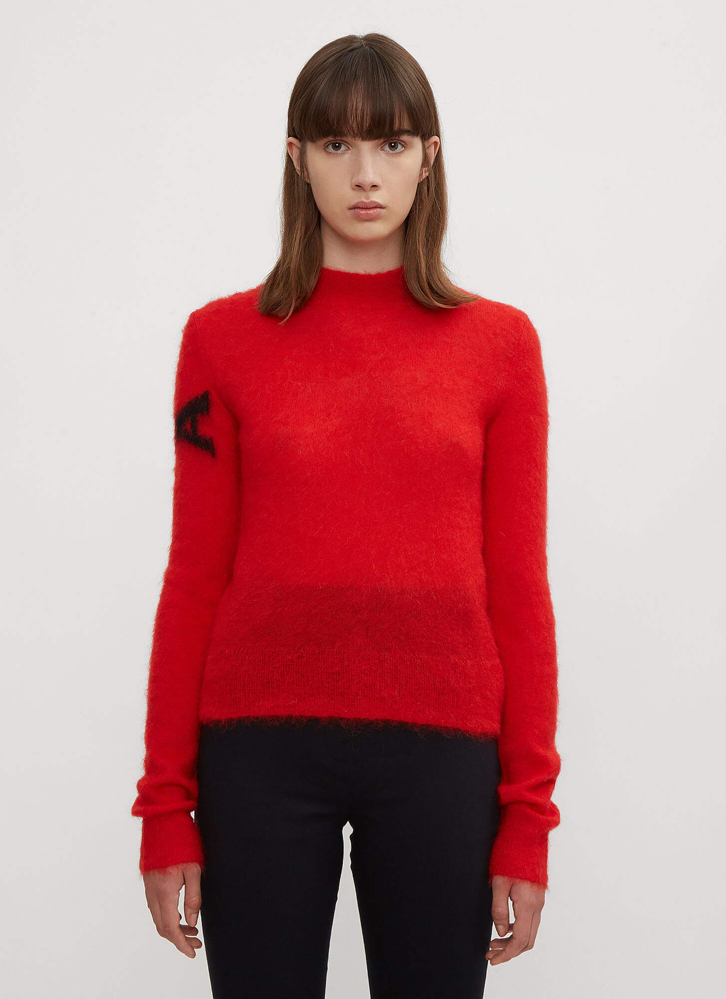 1017 ALYX 9SM Judy Mohair Sweater in Red size M