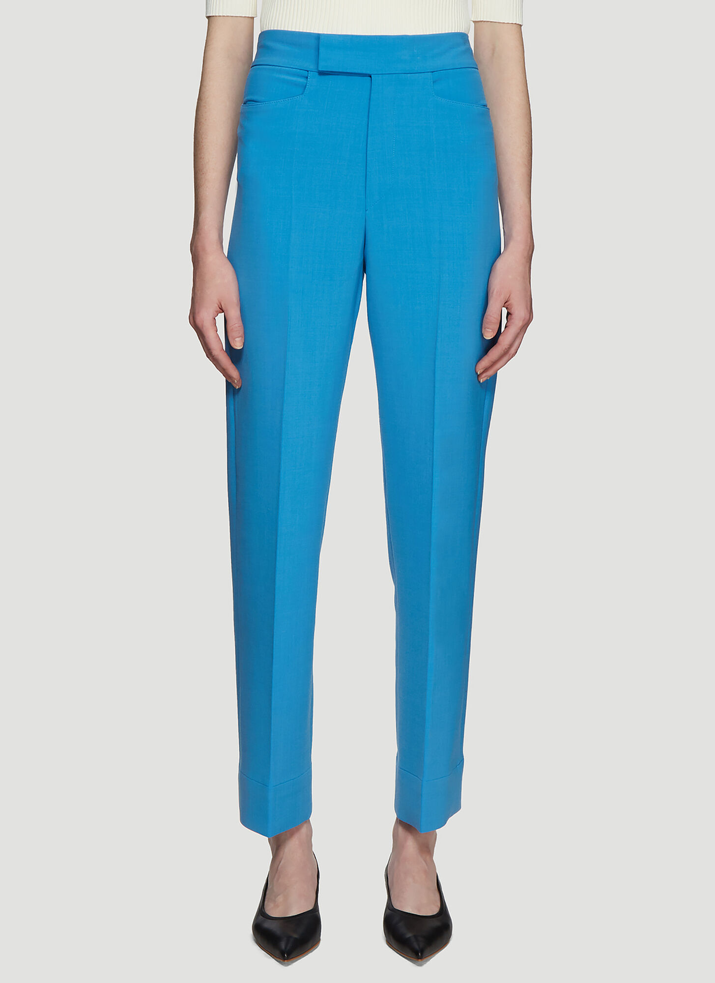 Kwaidan Editions Straight Leg Pants in Blue