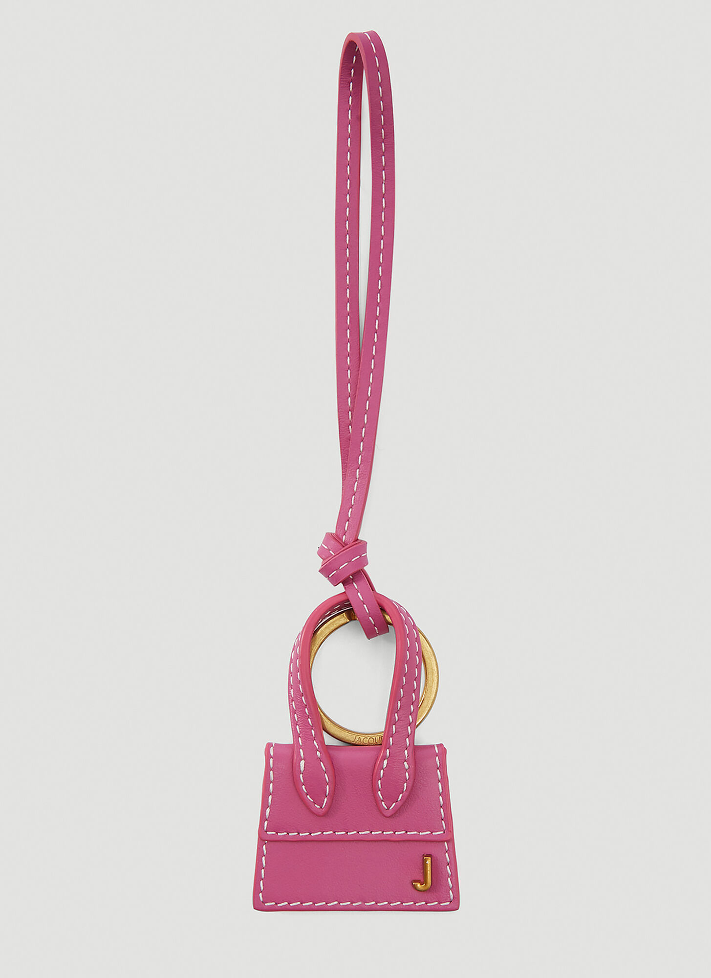 Jacquemus Le Porte Clés Chiquito Keyring in Pink