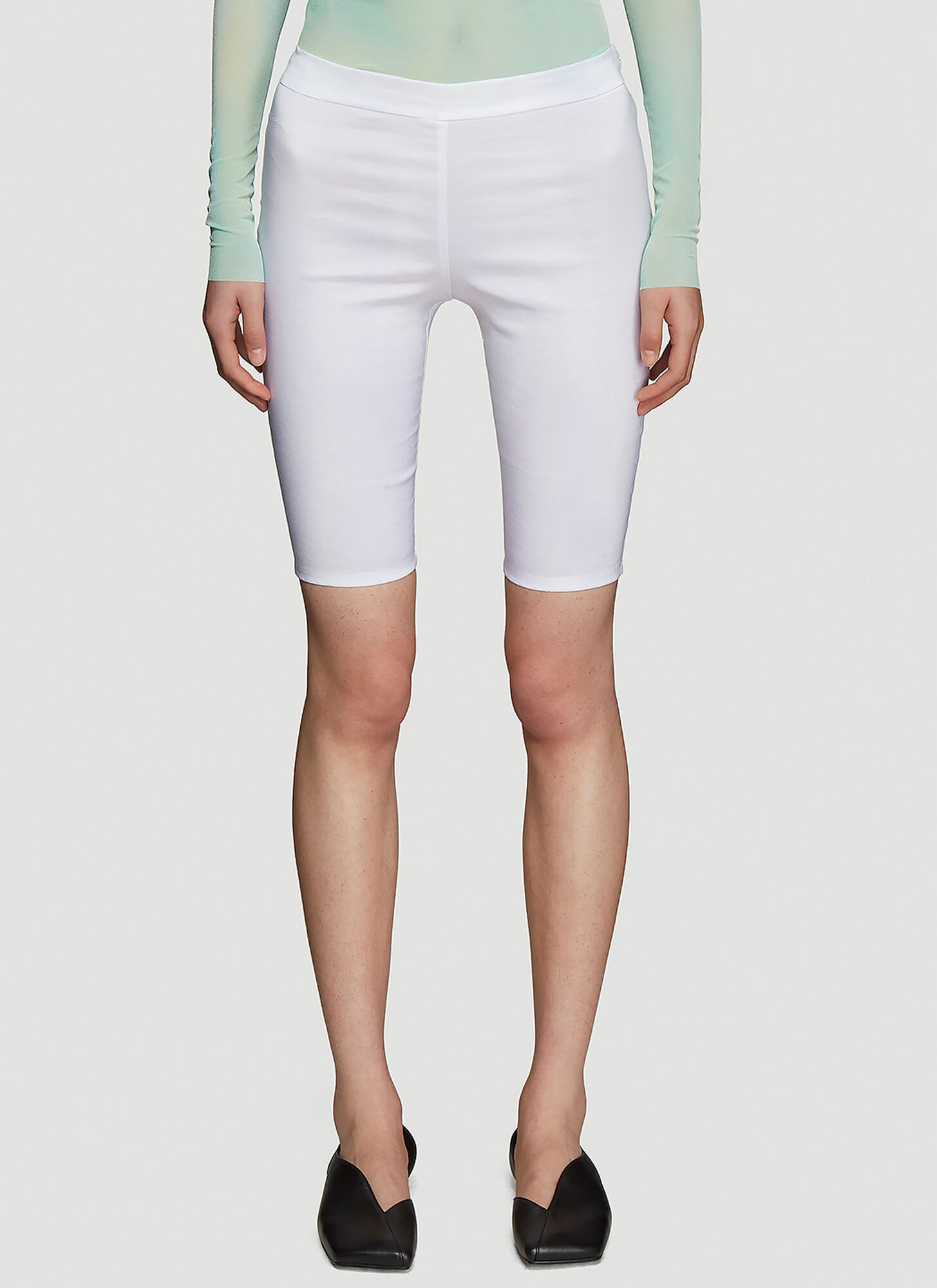 Collina Strada Osho Shorts in White