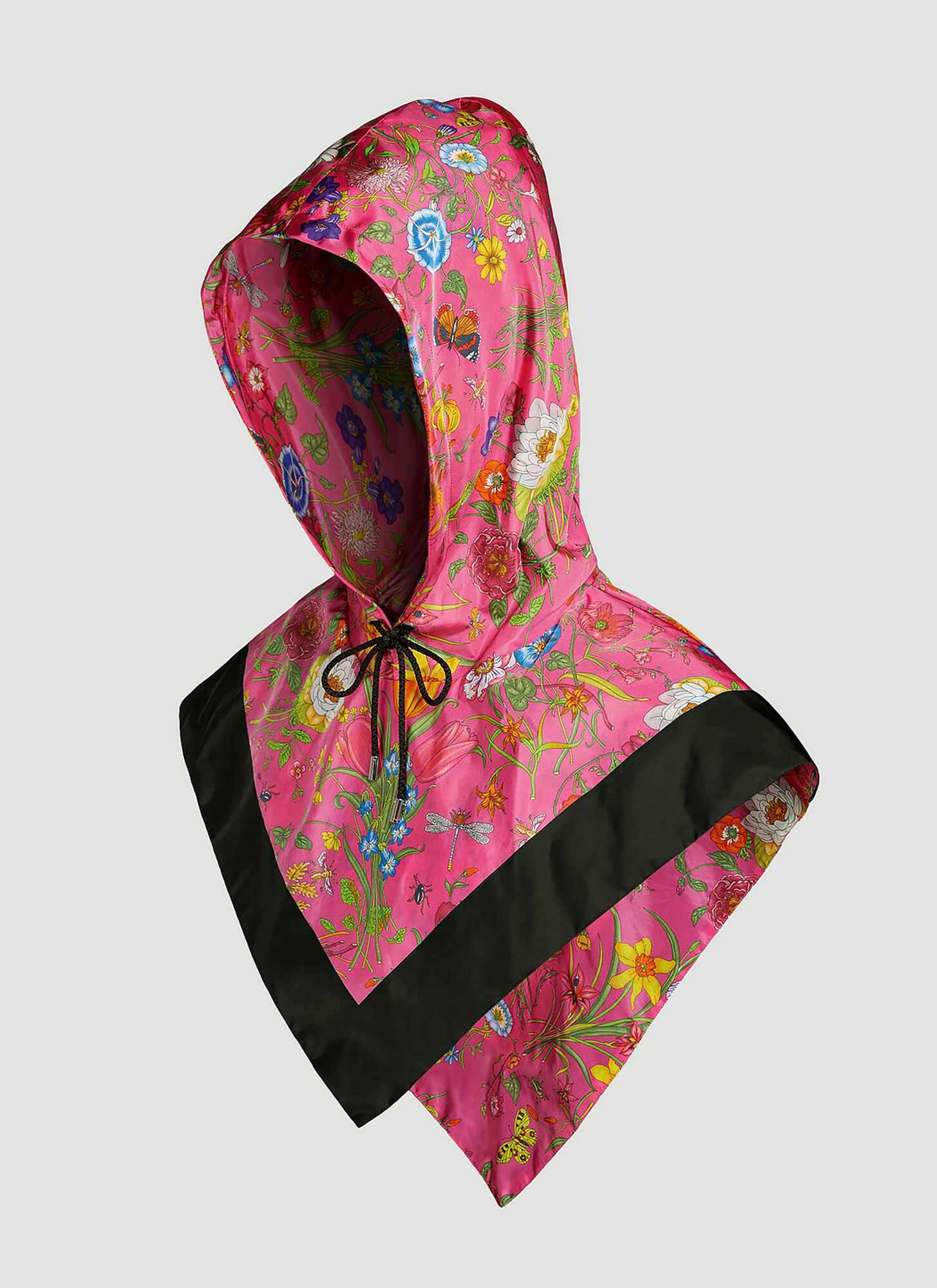 Gucci Floral Print Hood in Pink