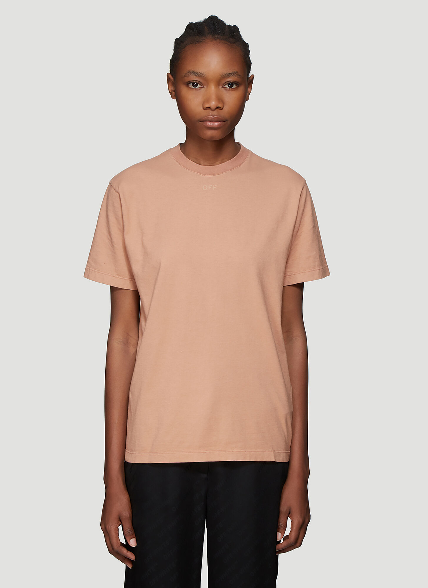 Off-White Arrows T-Shirt in Beige