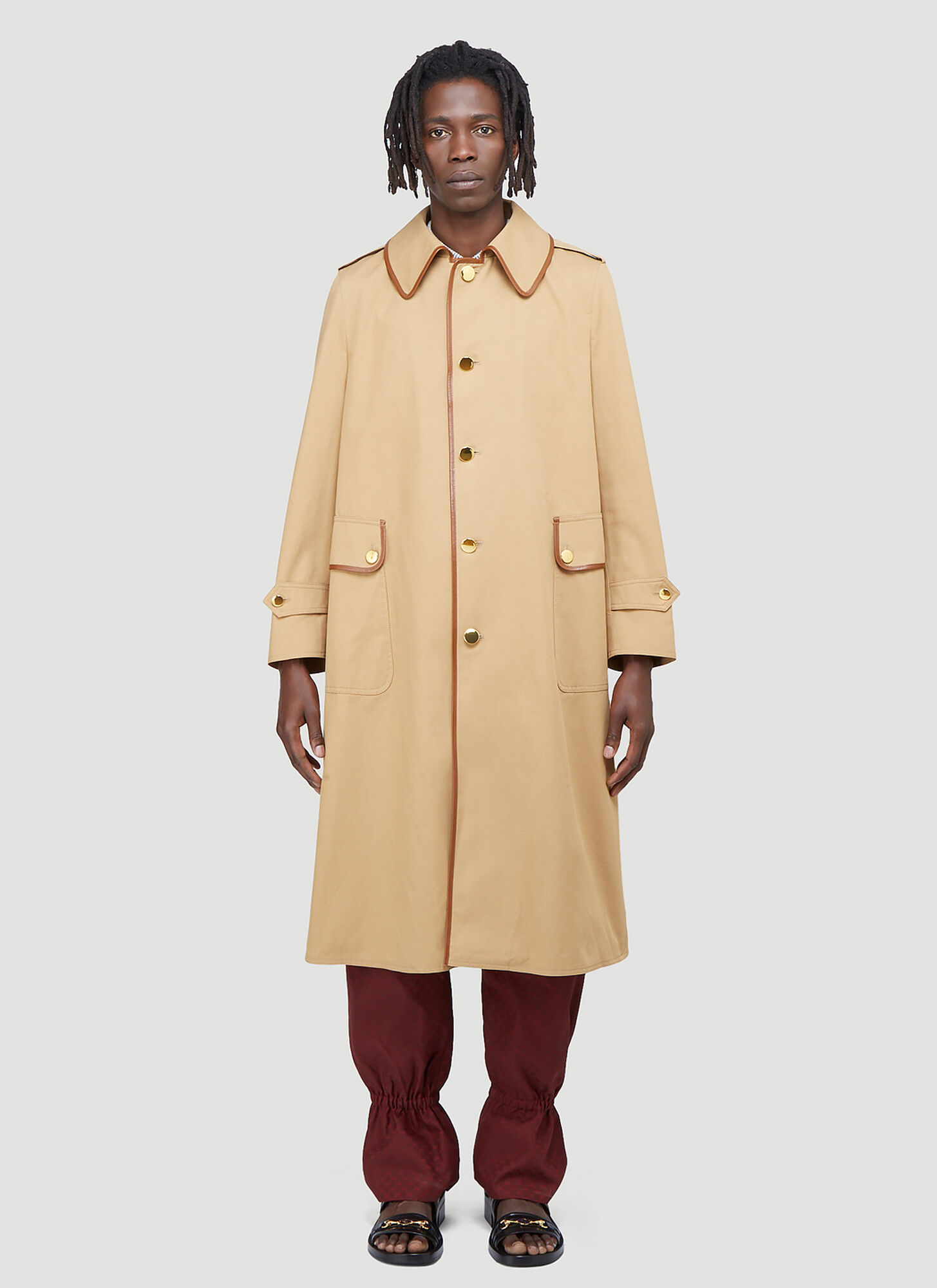 Gucci Oversized Trench Coat