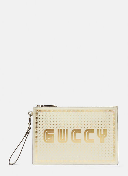 Guccy Print Pouch