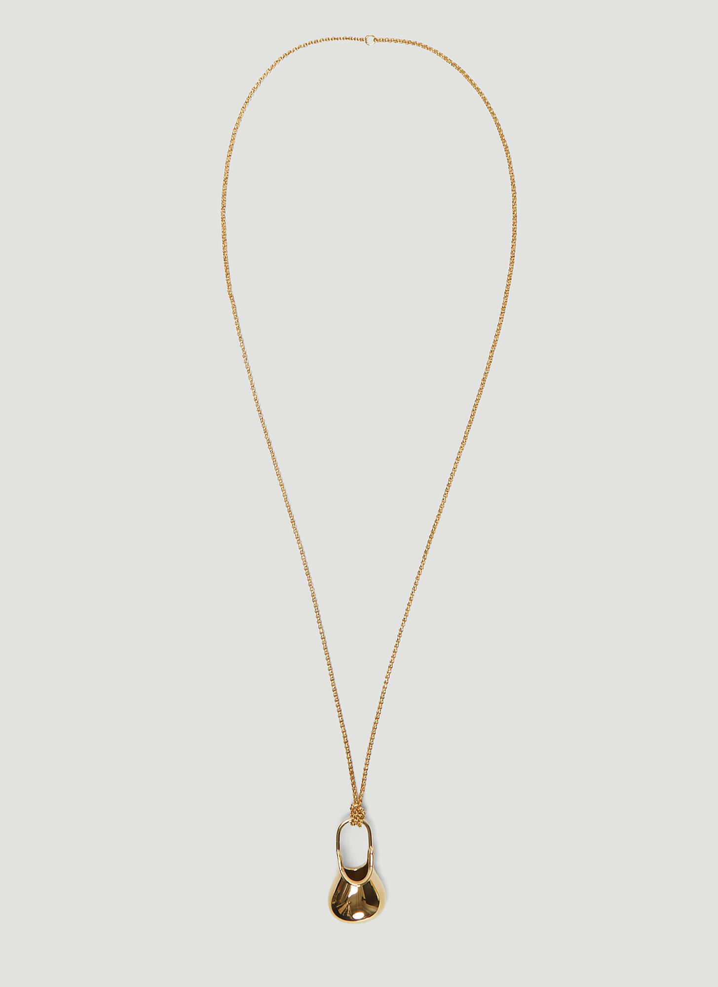 JW Anderson Jug Pendant Necklace in Gold