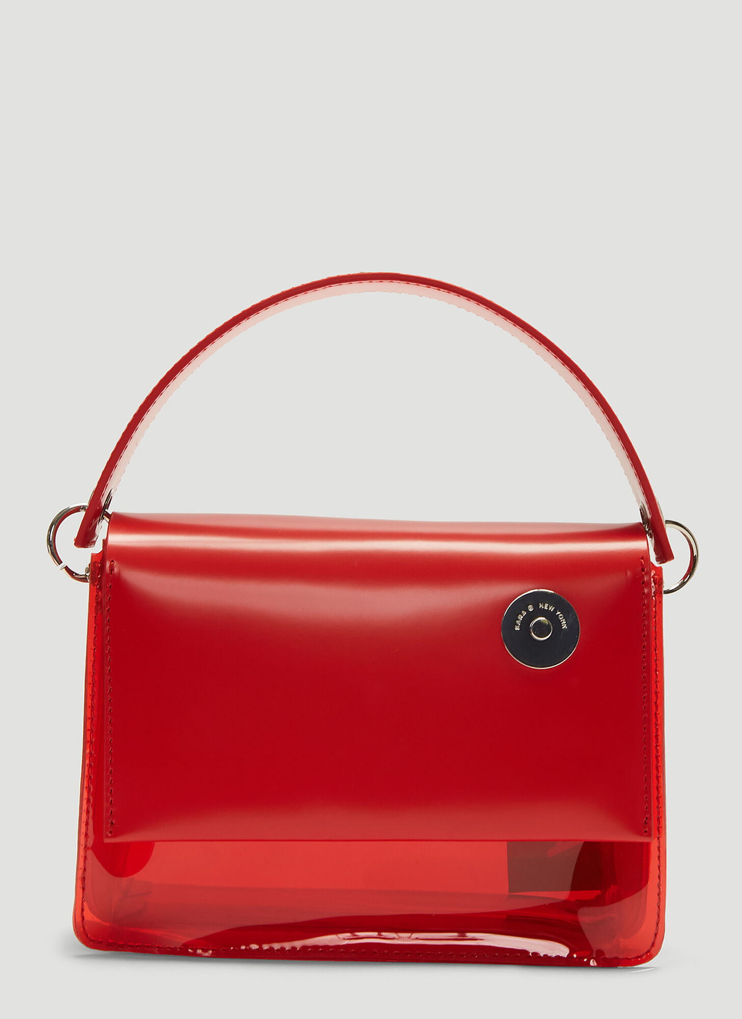 Kara Baby Pinch Shoulder Bag in Red