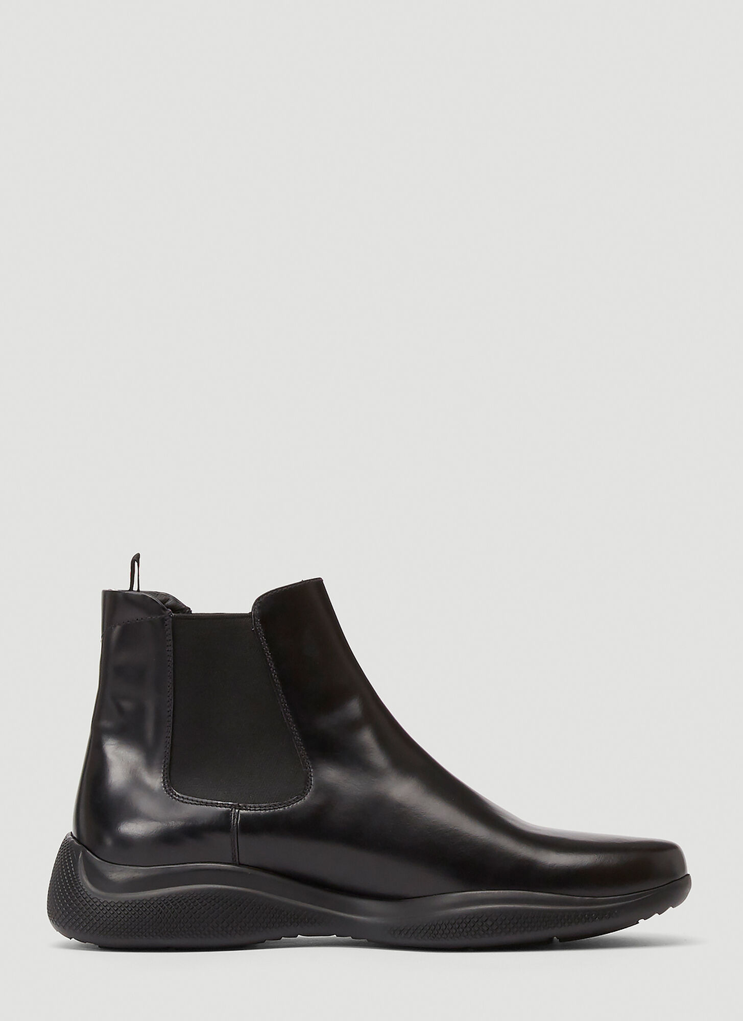 Prada Americas Cup Leather Boots