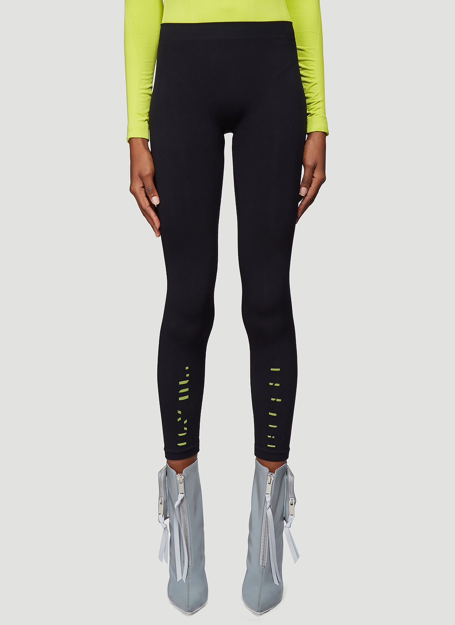 Unravel Project Tech Seamless Leggings in Black