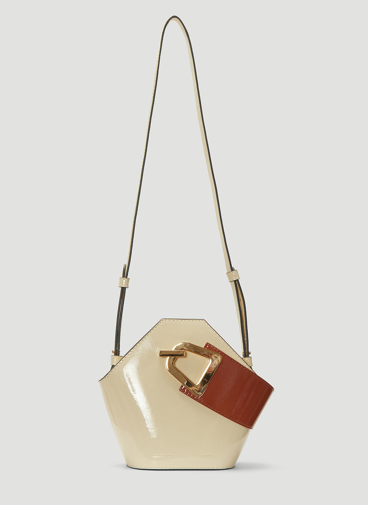 Danse Lente Mini Johnny Handbag in Cream