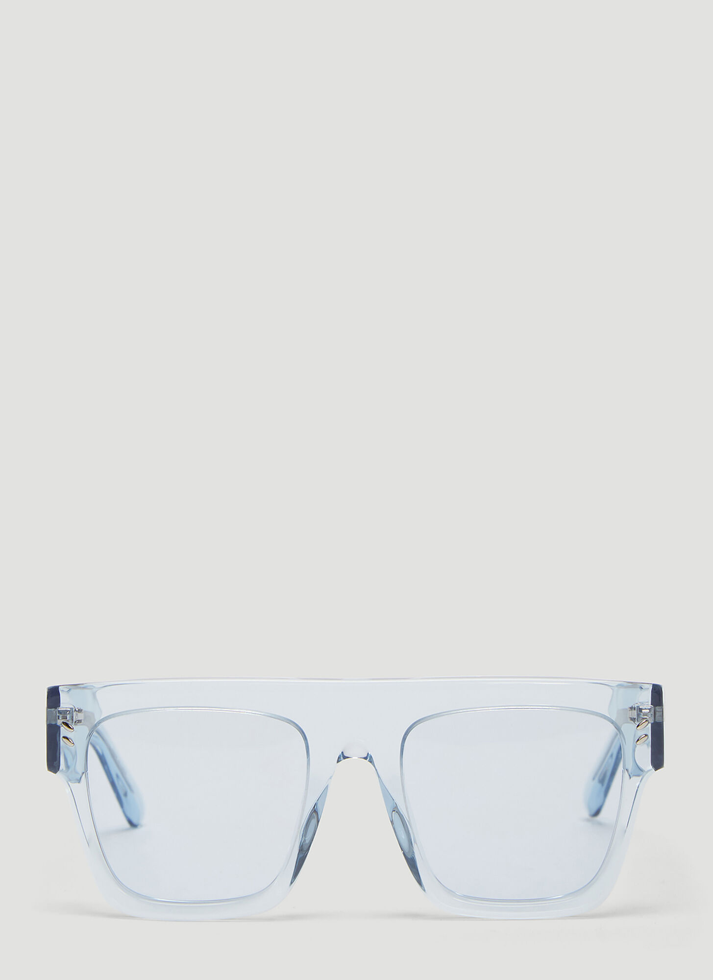 Stella McCartney Square Acetate Sunglasses in Blue