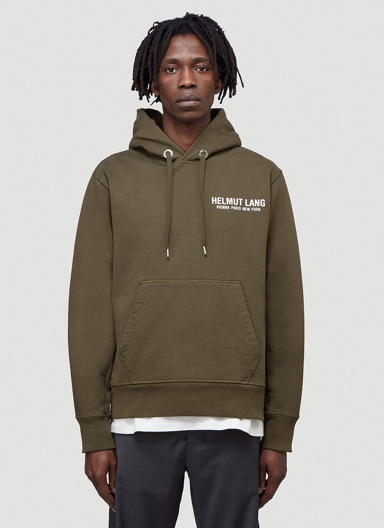 Helmut Lang Strap Hooded Sweatshirt