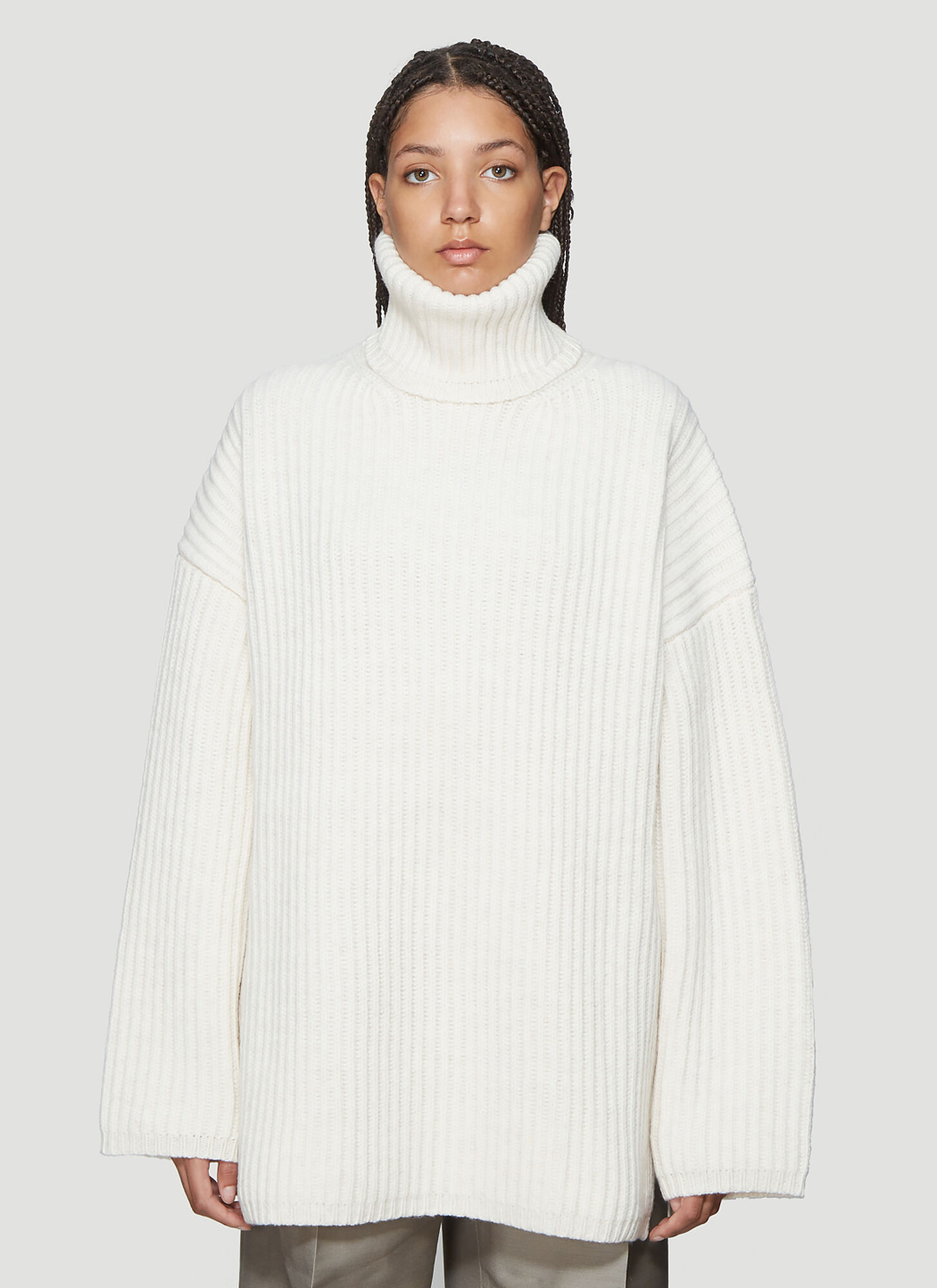 Acne Studios LX2 New Disa Sweater in White