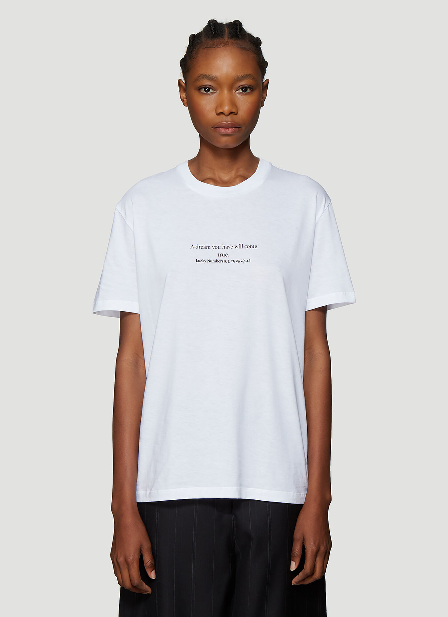 Stella McCartney Fortune Cookie T-shirt in White