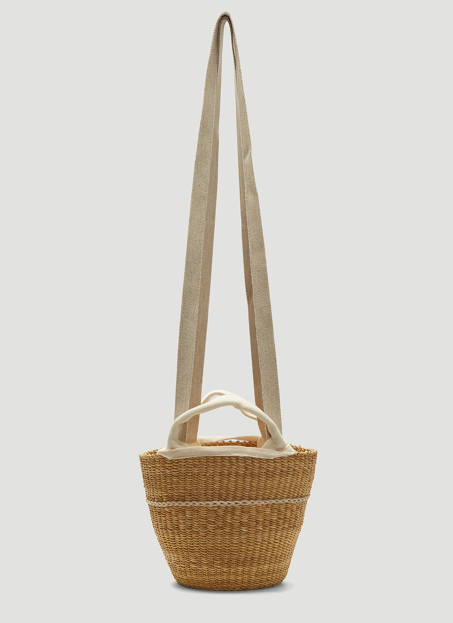 Muun Elisa Basket Bag in Beige