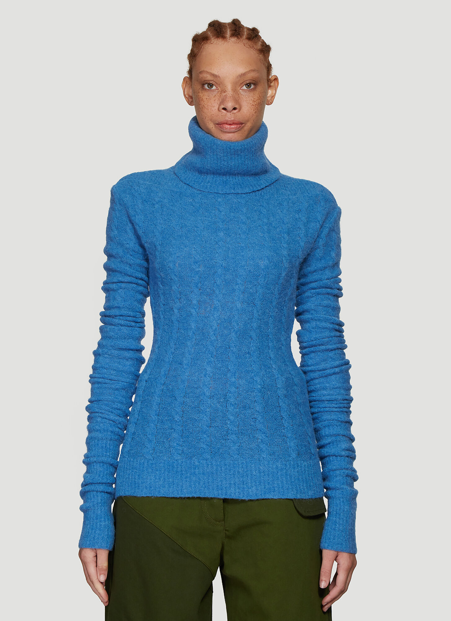 Jacquemus La Maille Sofia Sweater in Blue