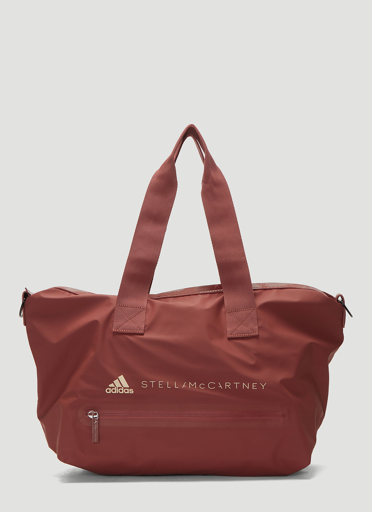 adidas by Stella McCartney Logo Print Tote Bag in Red