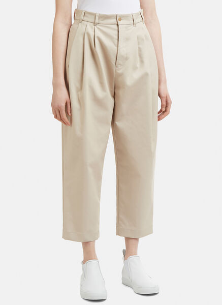 Pleat Tapered Pants