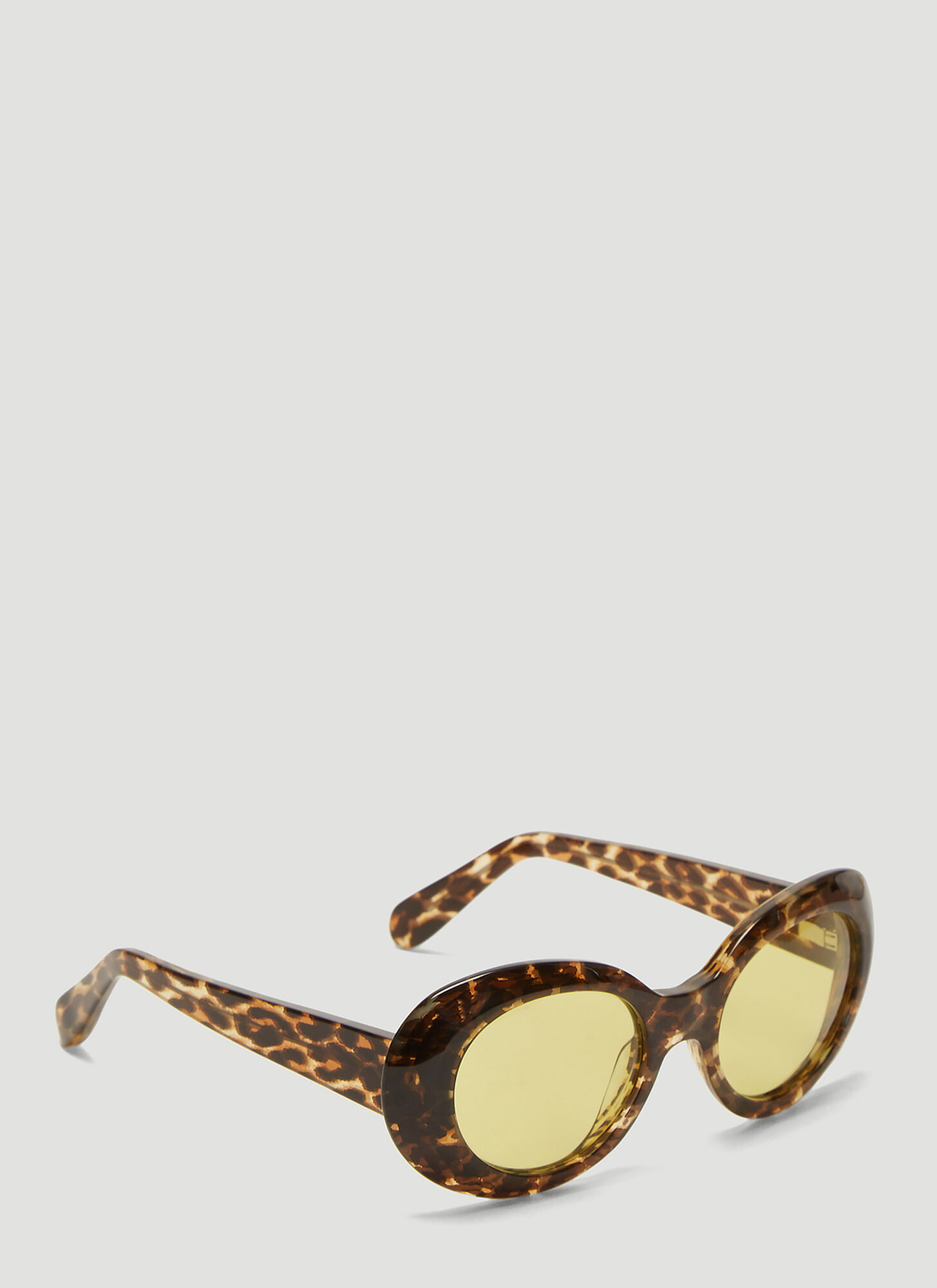 Acne Studios Mustang Sunglasses in Tortoiseshell size One Size