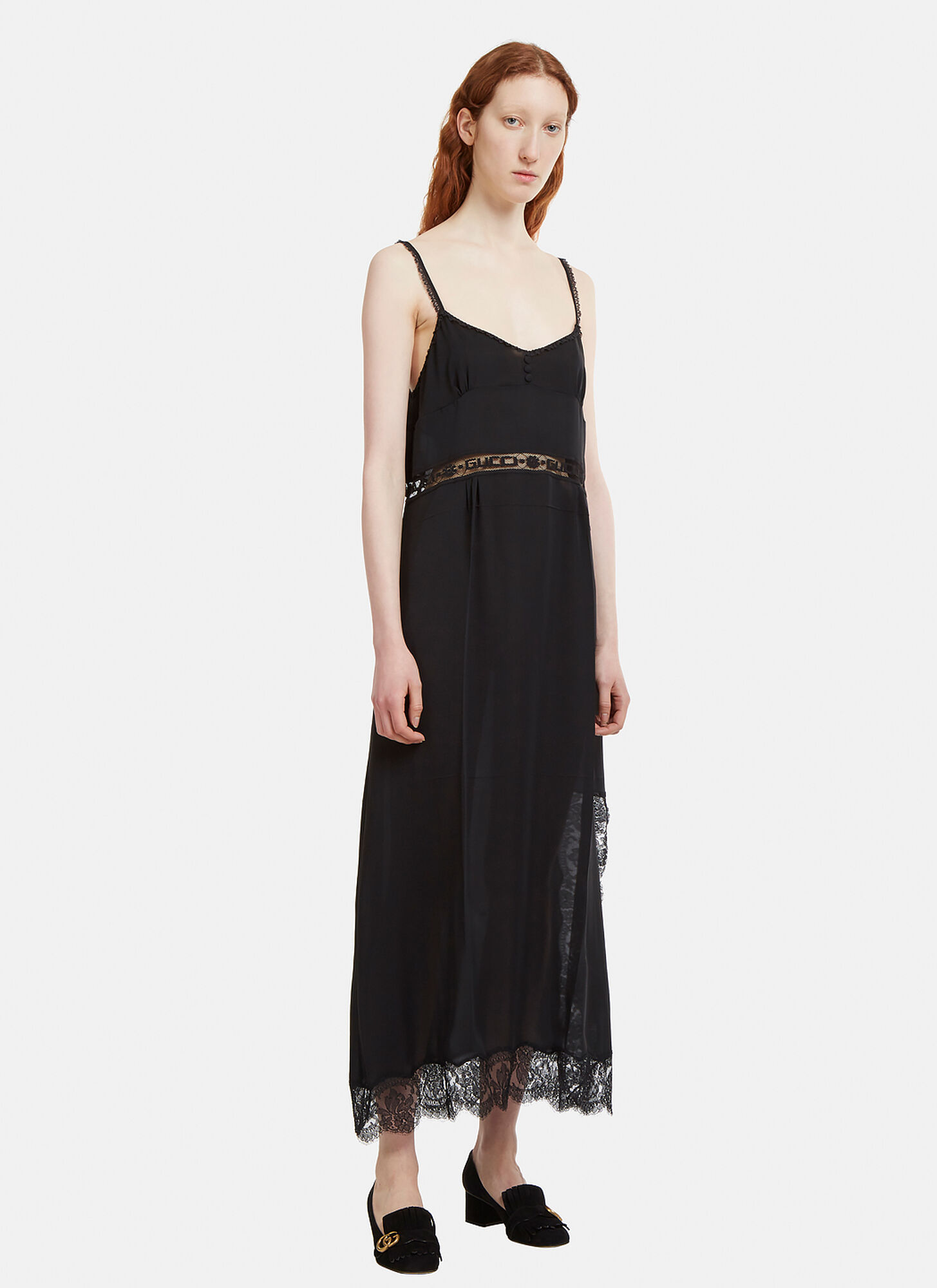 Photo of Gucci Silk dress in Black - Gucci Dresses