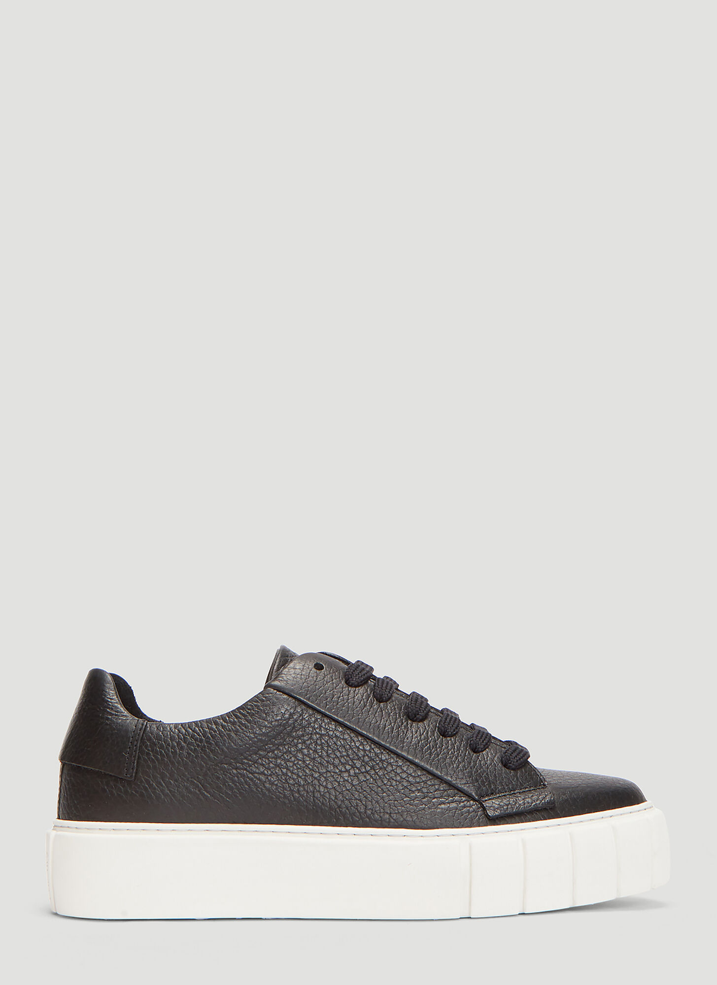 Primury DYO Leather Sneakers in Black