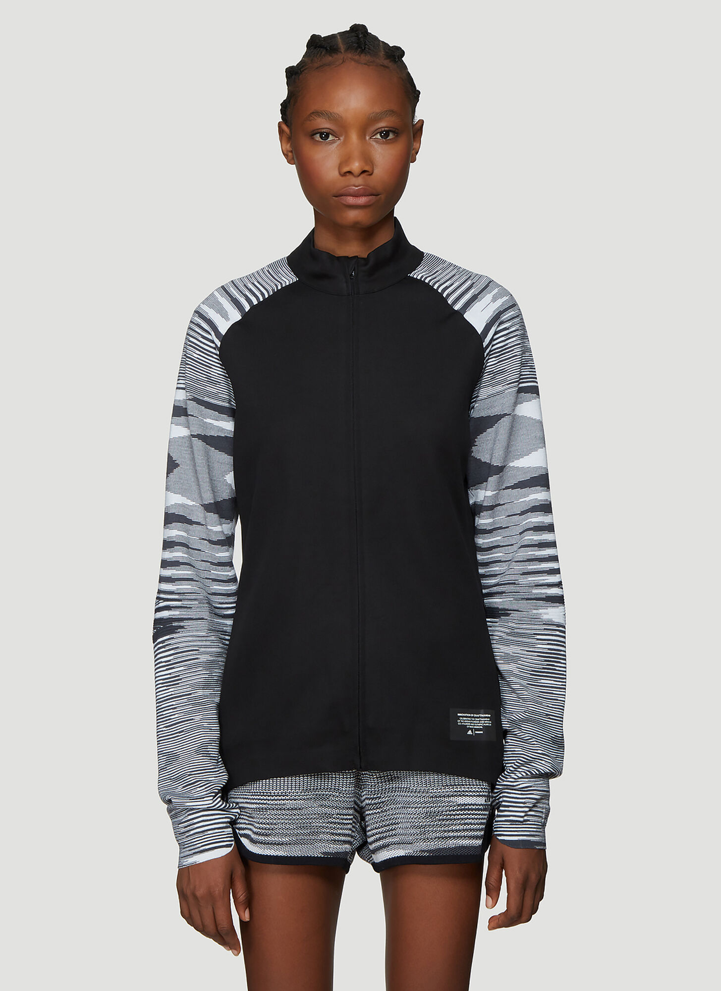 Adidas x Missoni X Missoni PHX Jacket in Black