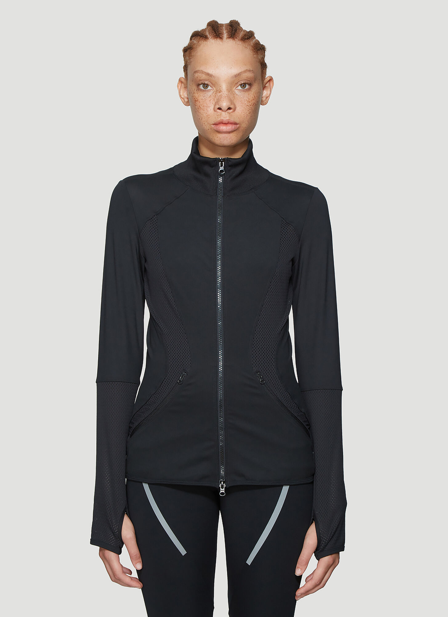 adidas by Stella McCartney Essential Mid-Layer Top in Black