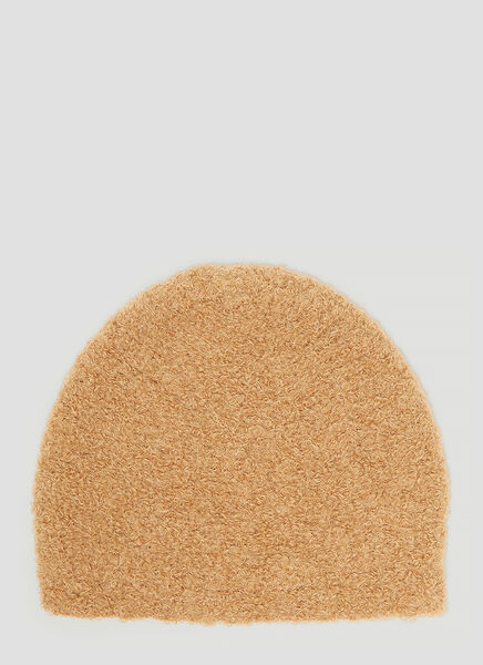Lauren Manoogian Toque Beanie Hat in Brown