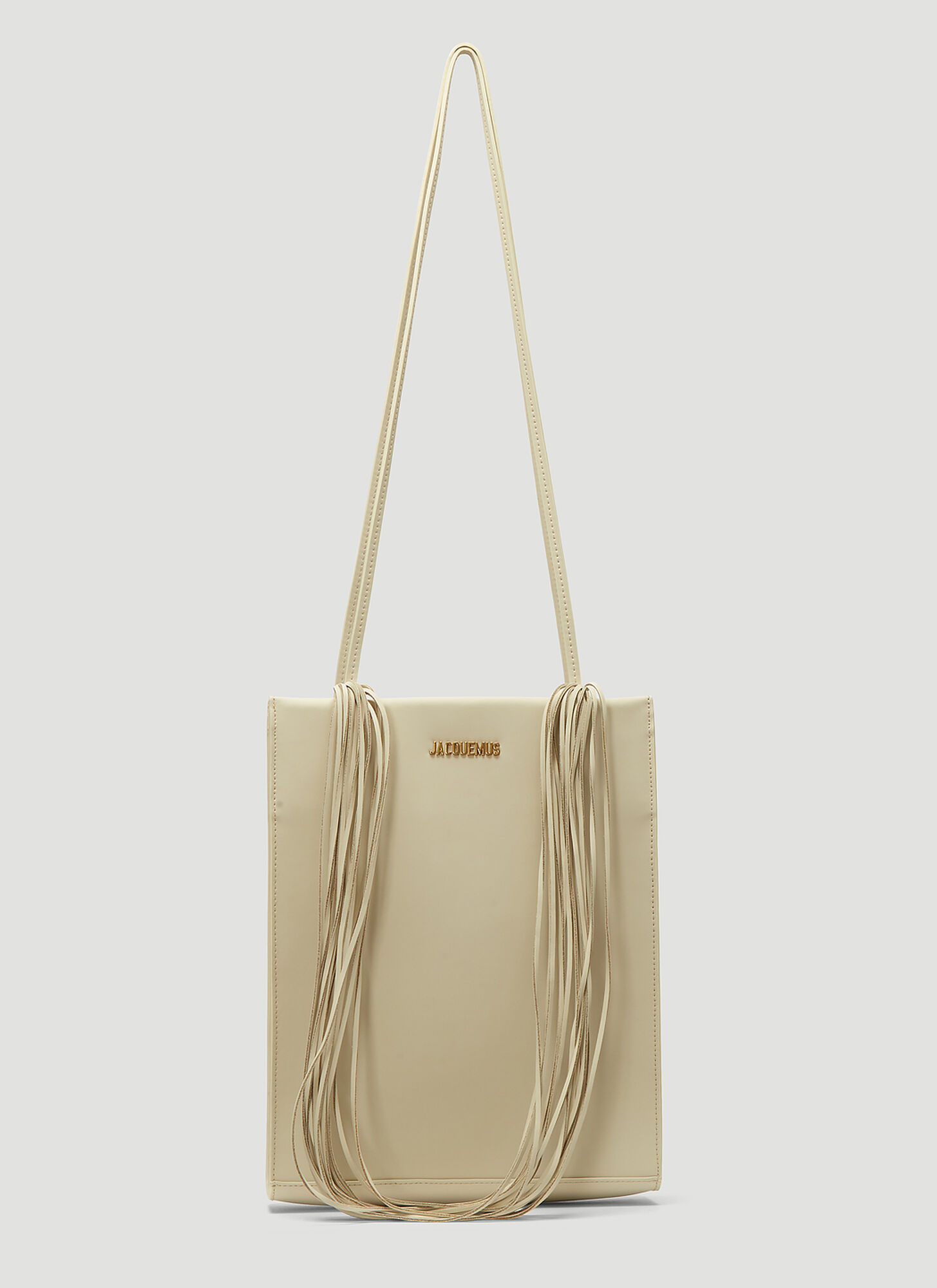 Jacquemus Le A4 Tote Bag in White
