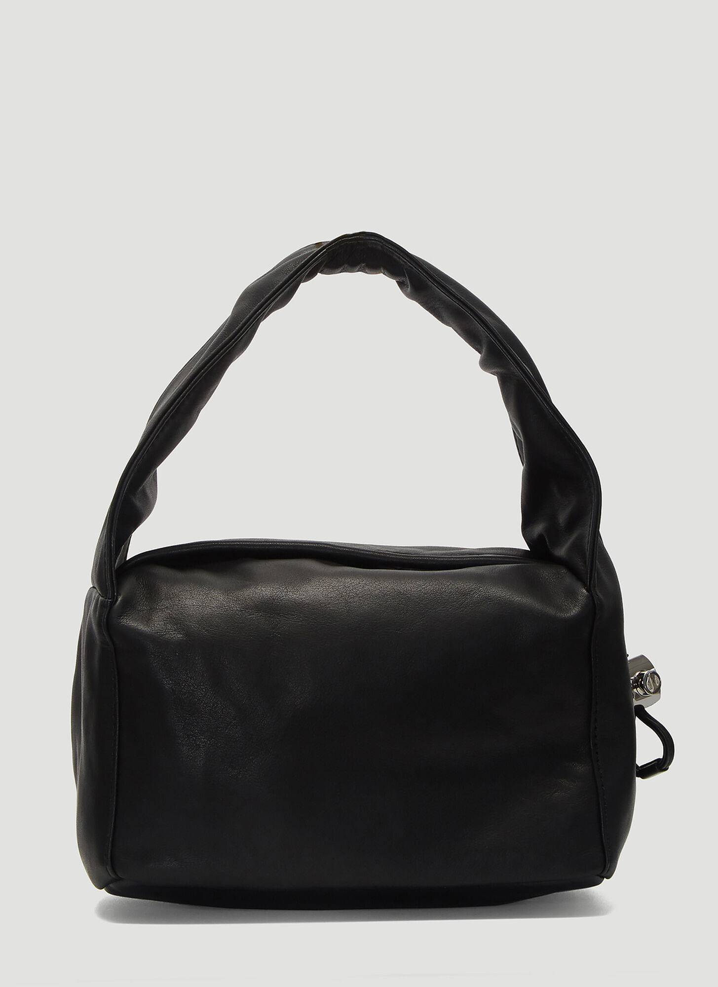 Kara Baby Cloud Leather Bag in Black