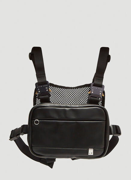 Alyx Mini Chest Rig Cross Body Bag in Black