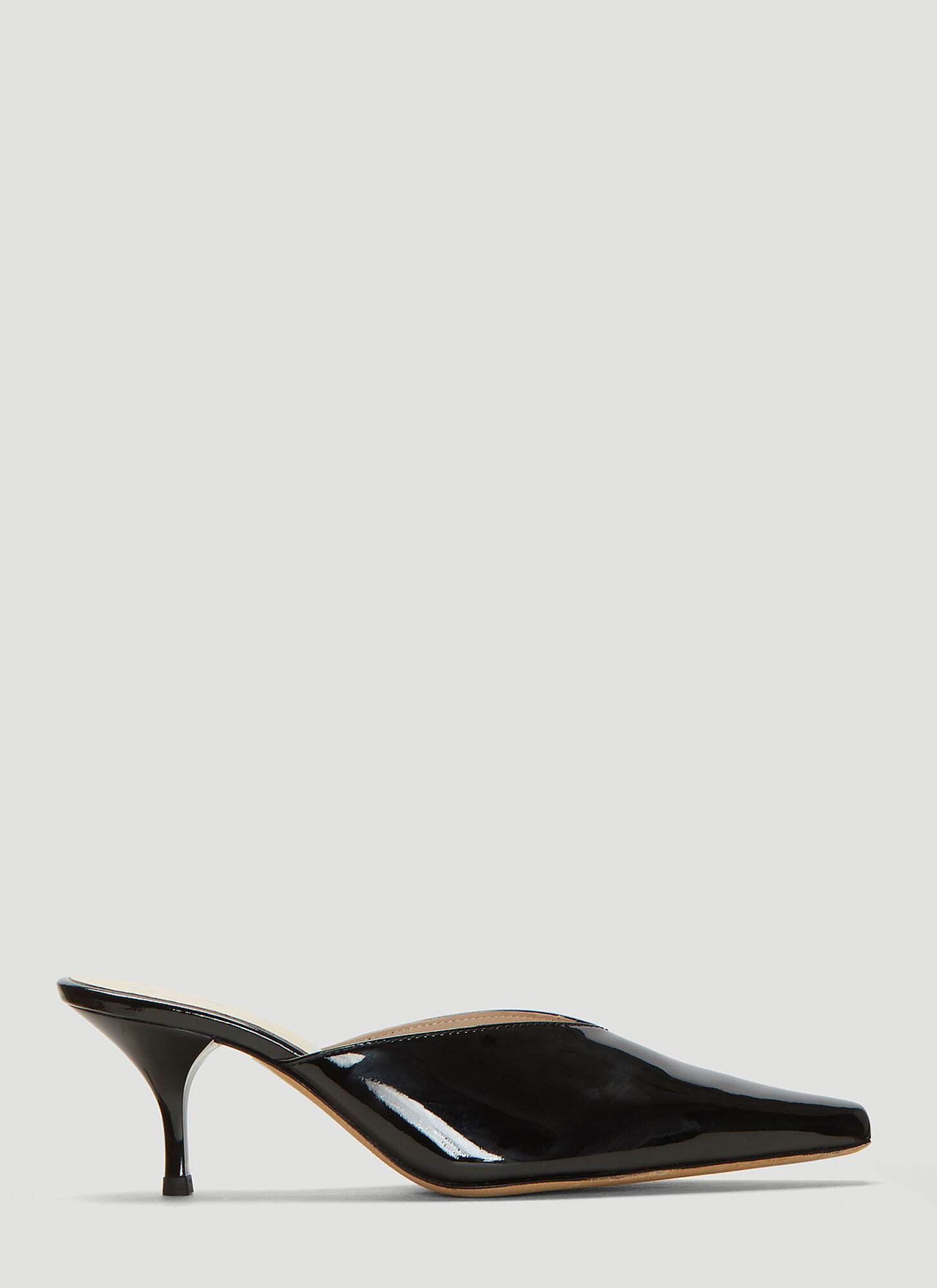 Kalda Alba Mules in Black