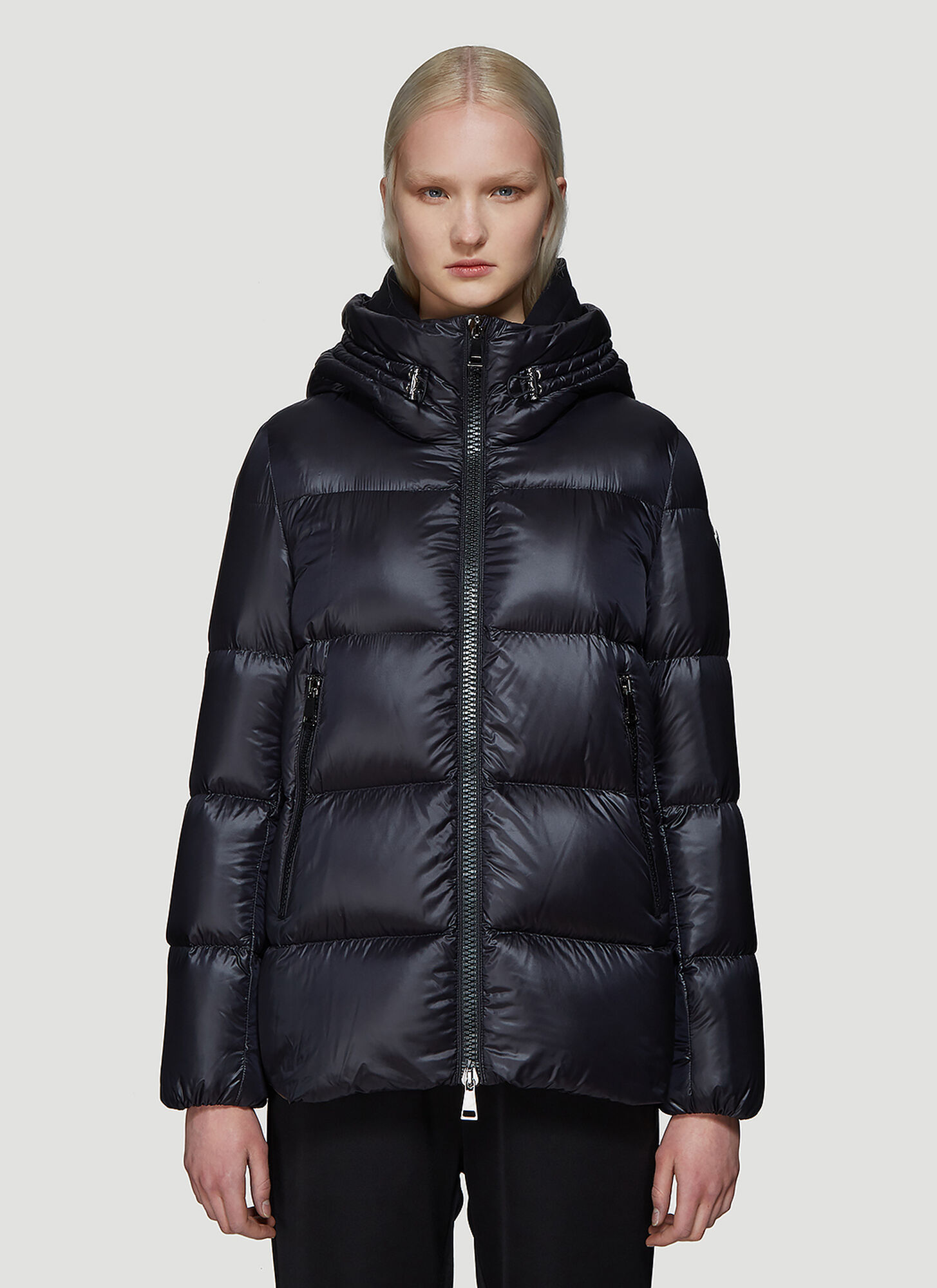 Moncler Seritte Padded Down Jacket in Black