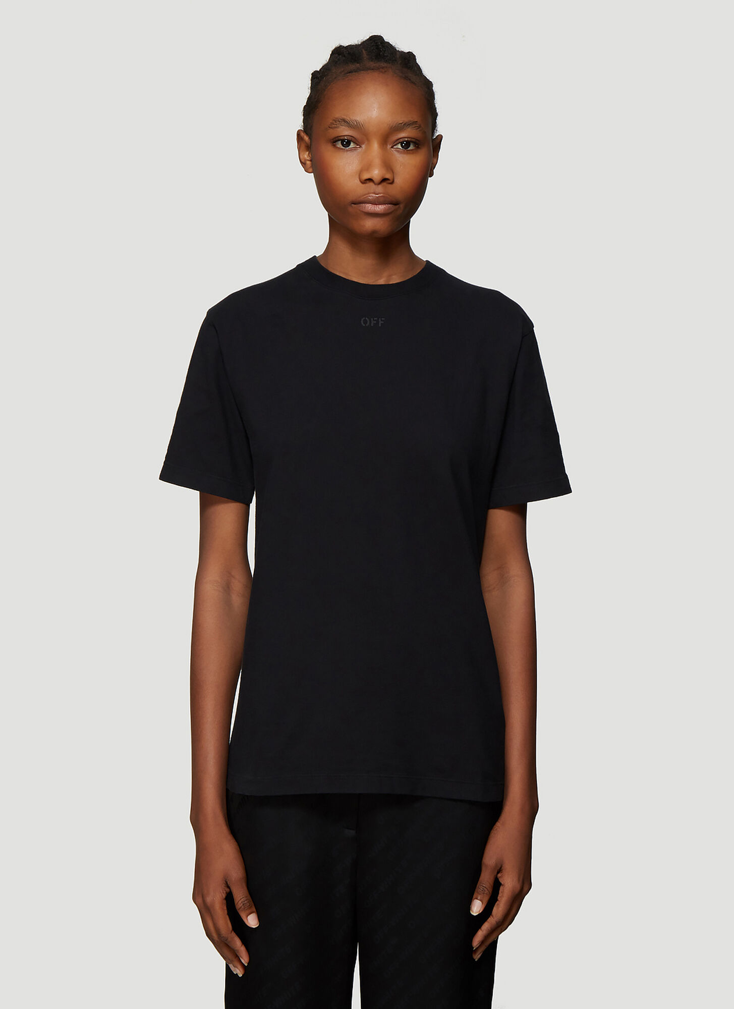 Off-White Arrows Logo T-Shirt in Black