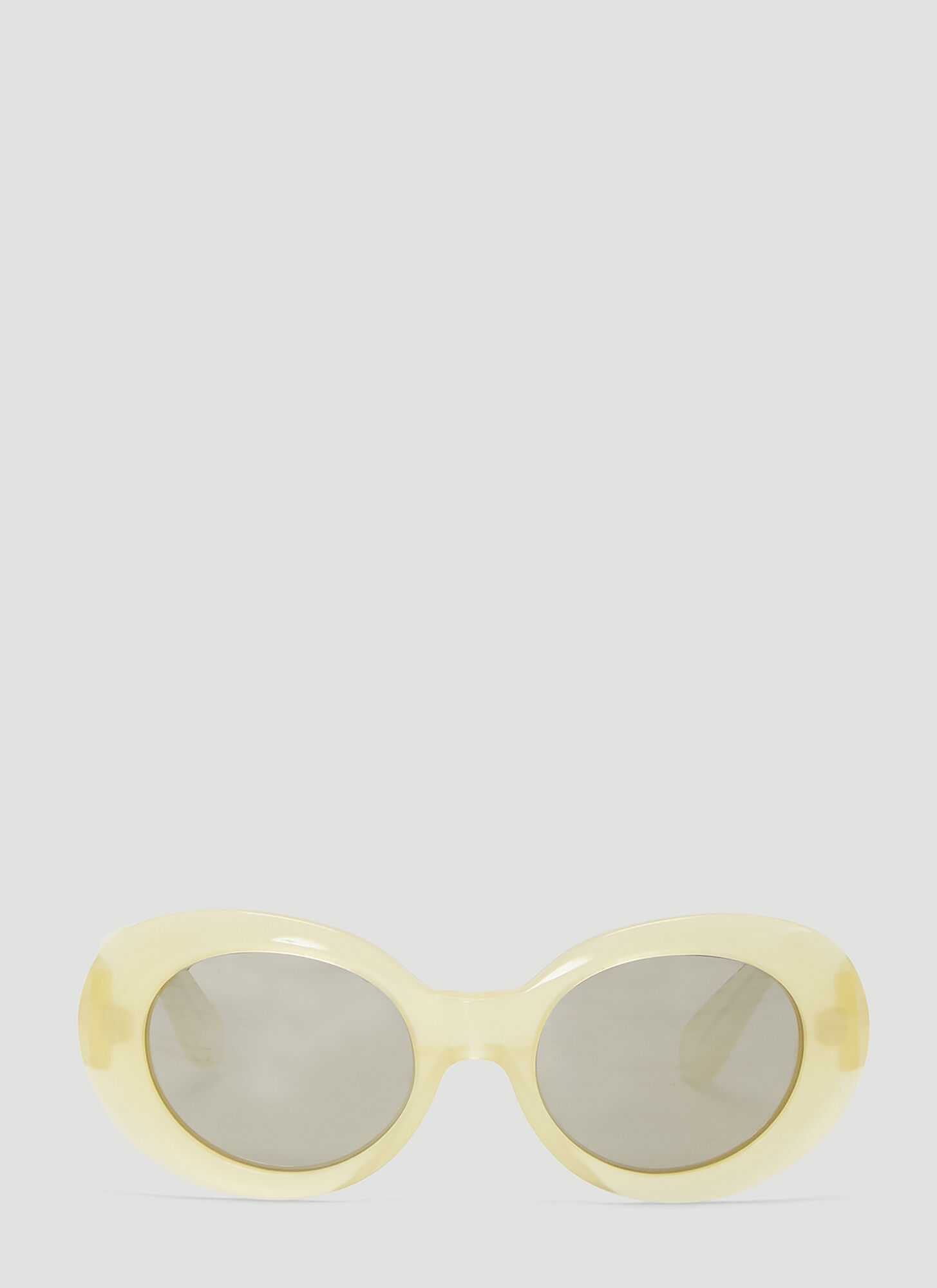 Acne Studios Mustang Sunglasses in Yellow