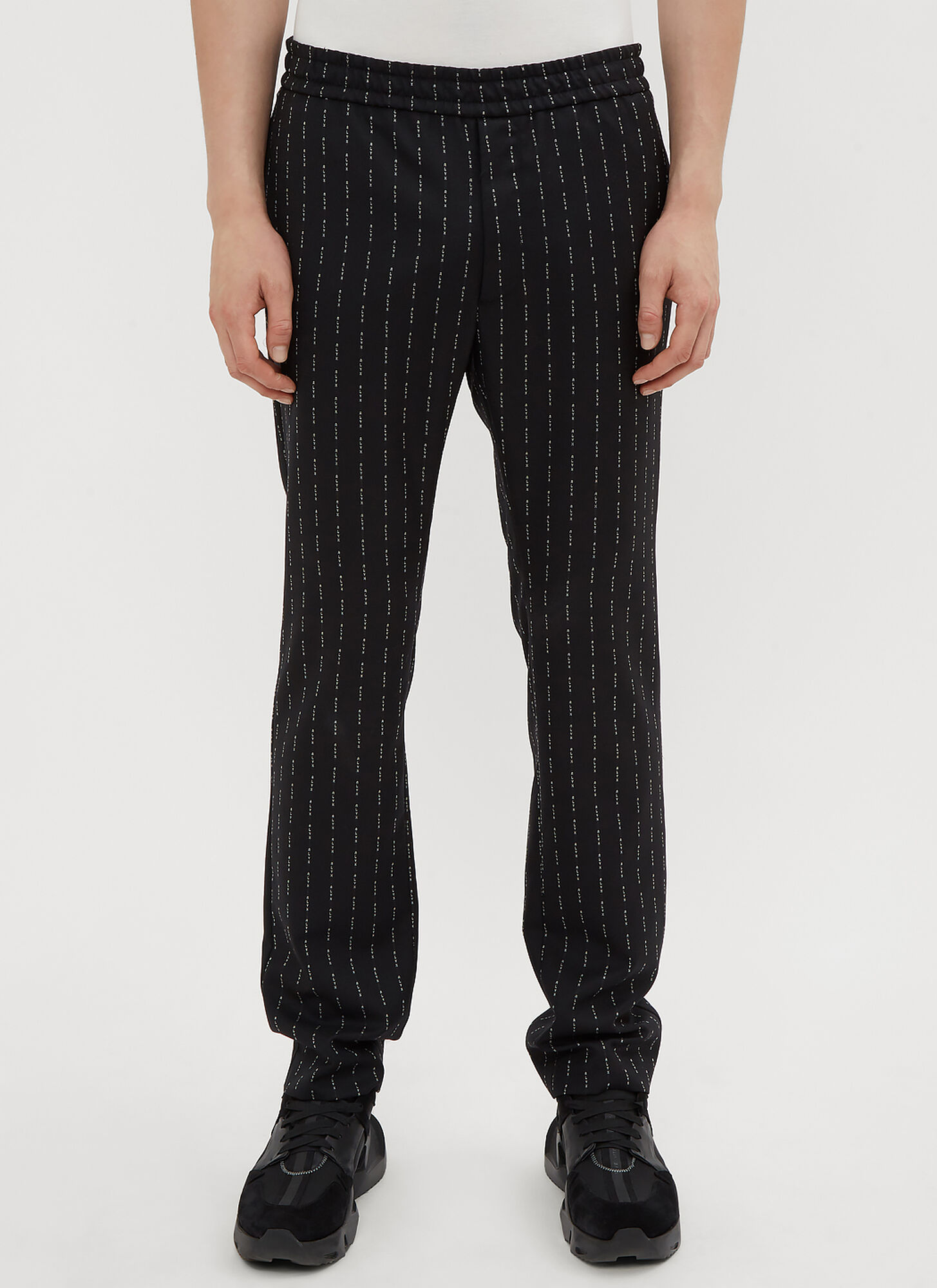 1017 ALYX 9SM Logo Jacquard Pants in Black size XL