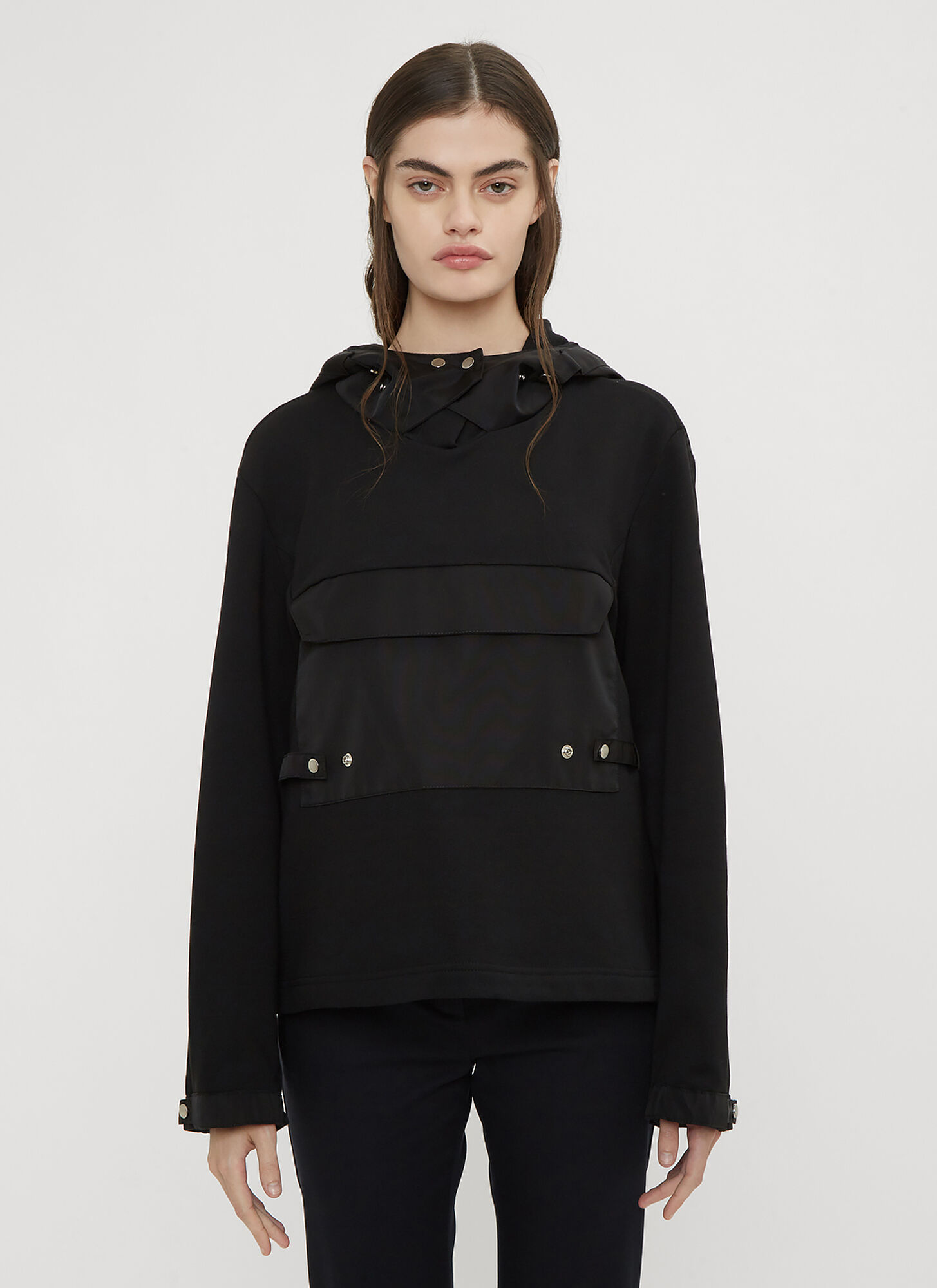 1017 ALYX 9SM Hooded Cargo Sweater in Black size S
