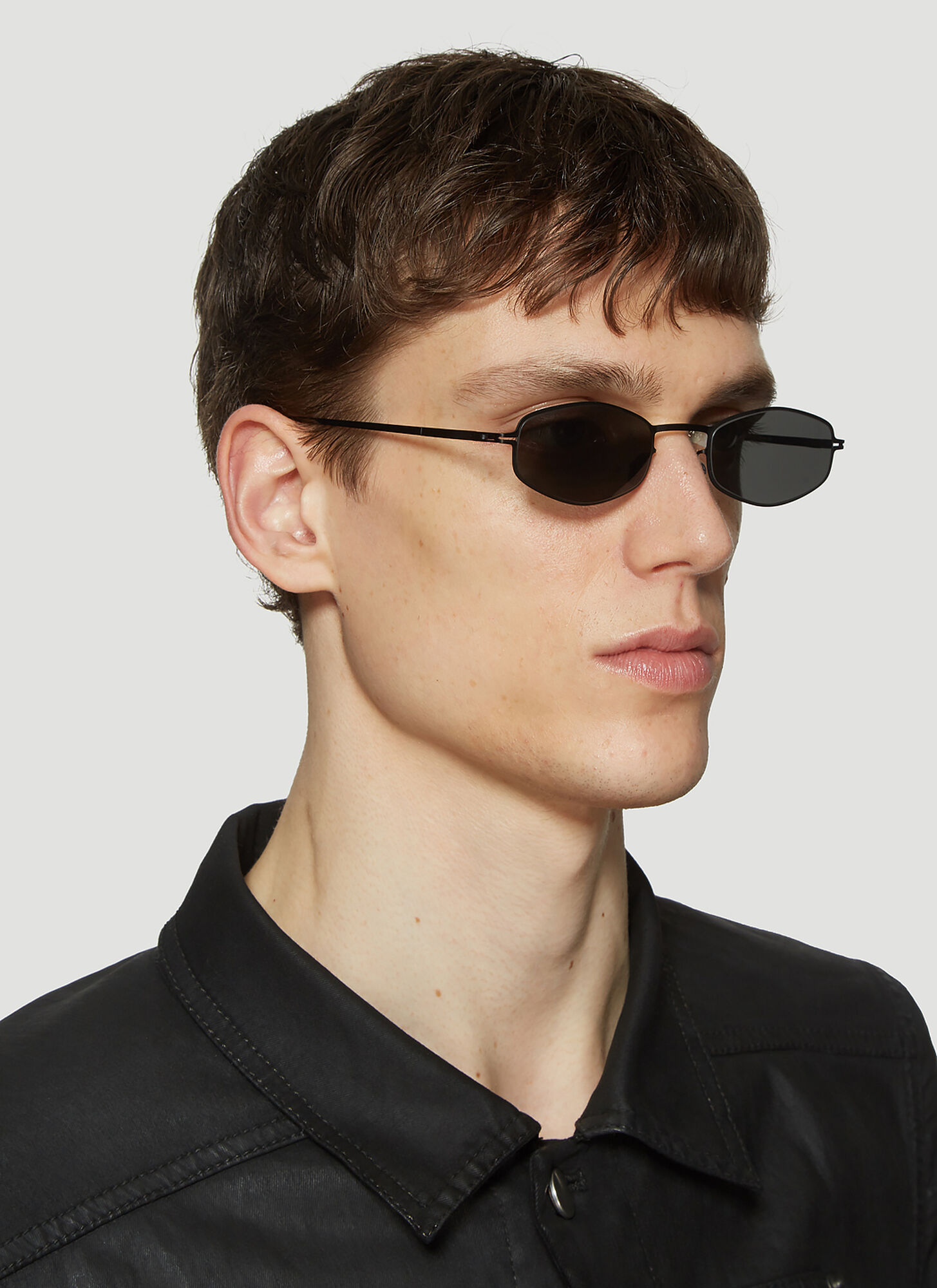 Mykita X Bernhard Willhelm Sunglasses in Black size One Size