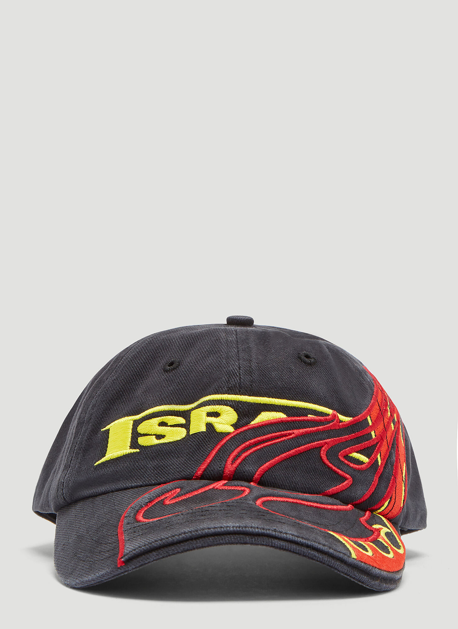 Vetements Cut-Up Cap in Black