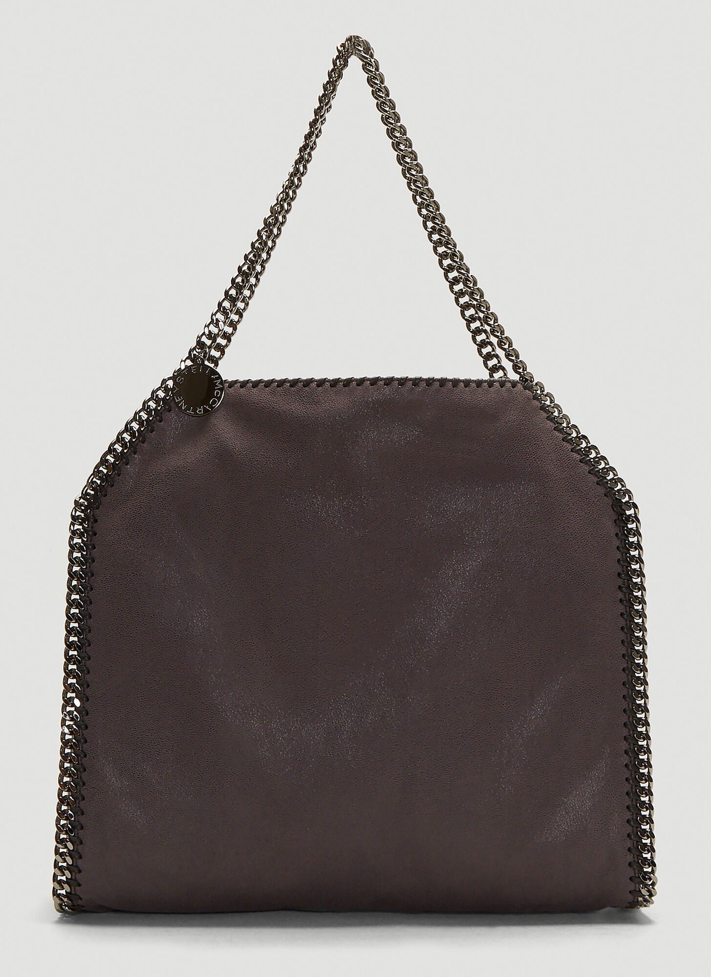 Stella McCartney Shaggy Deer Falabella Chain Bag in Grey