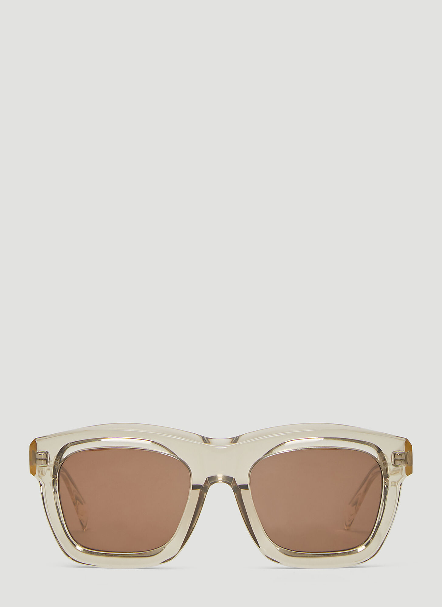 Kuboraum Maske C2 Square Sunglasses in Silver
