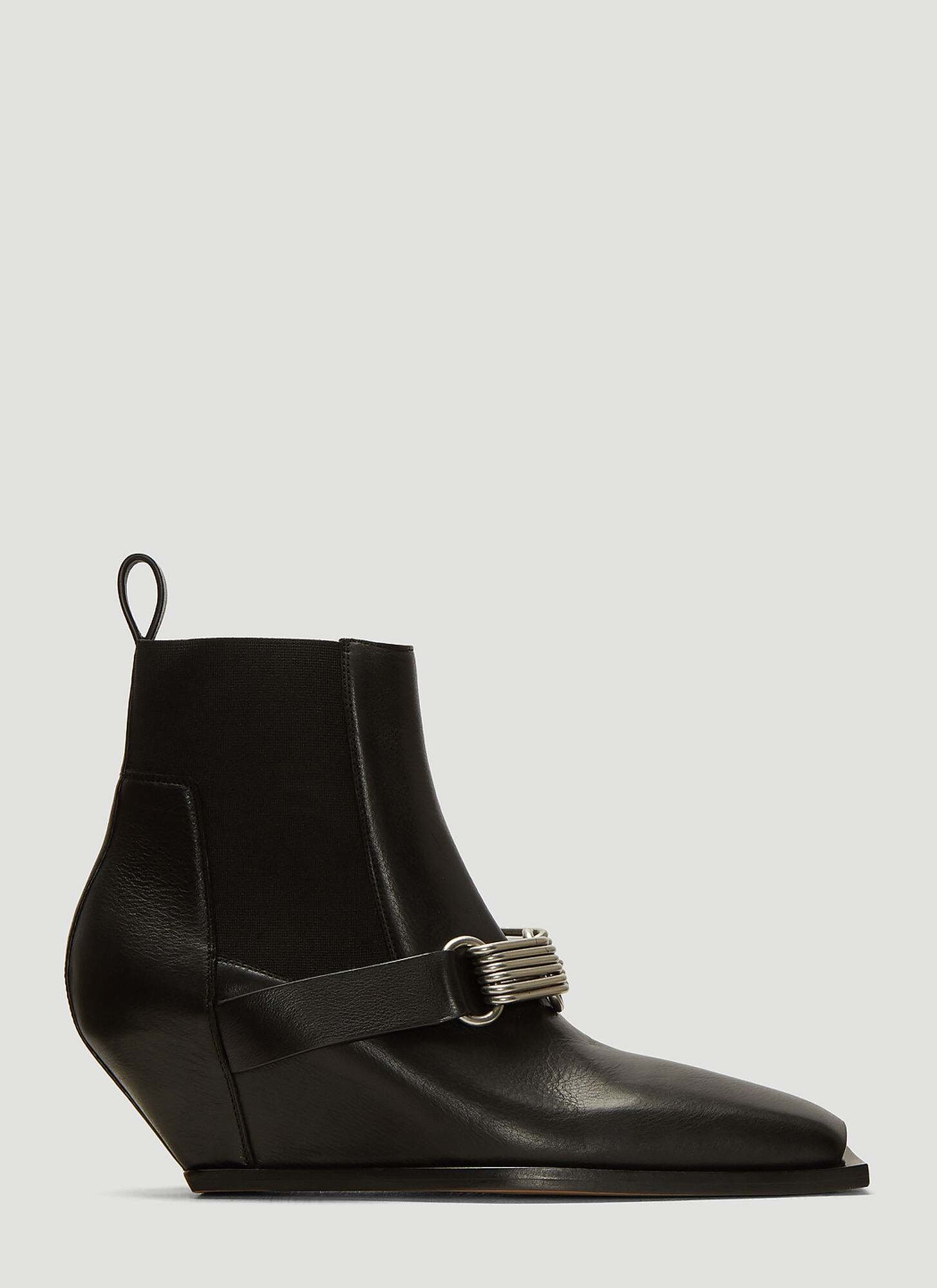 Rick Owens Stivali Ankle Boots in Black