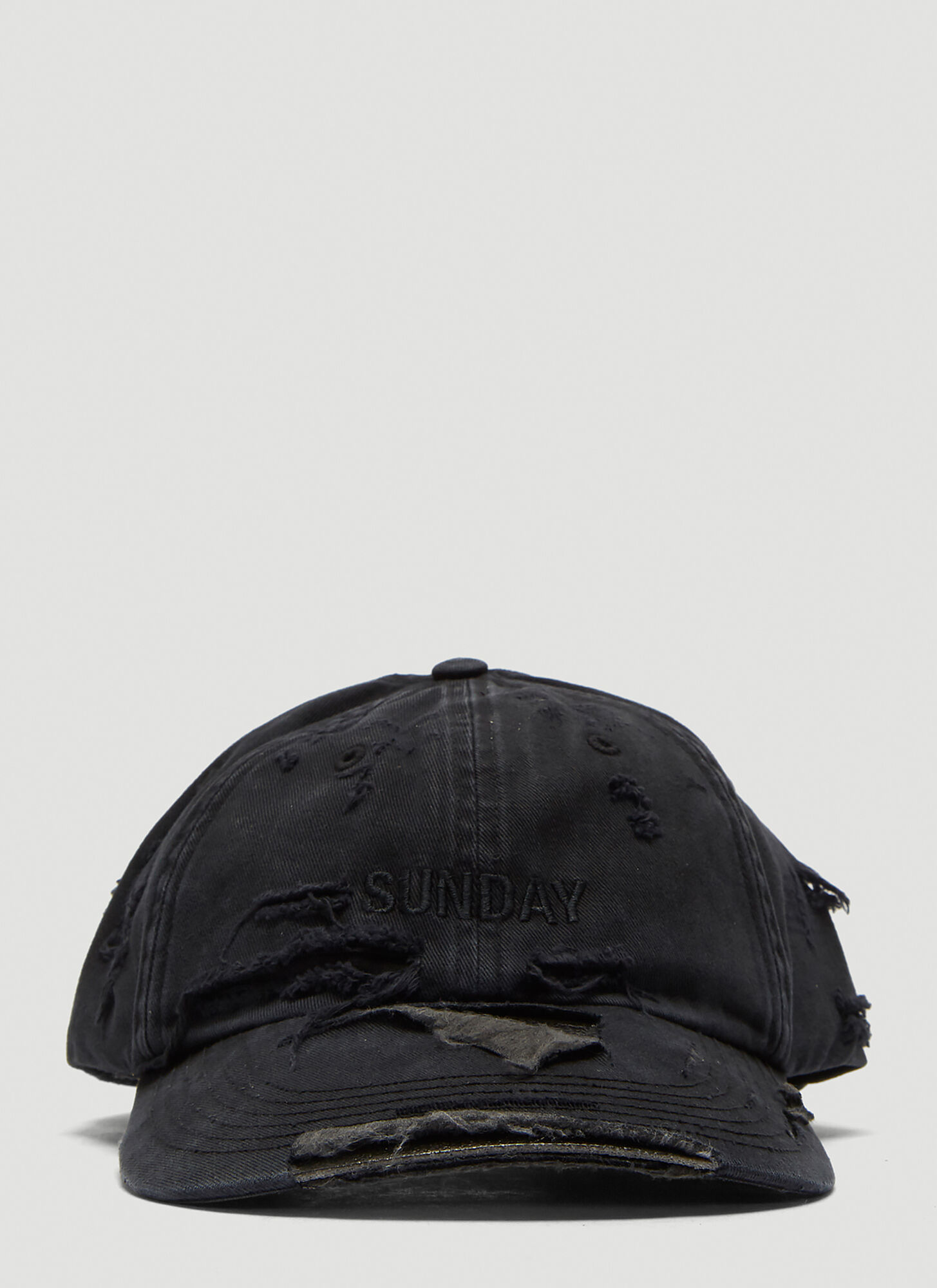 Vetements X Reebok Weekday Sunday Baseball Cap in Black