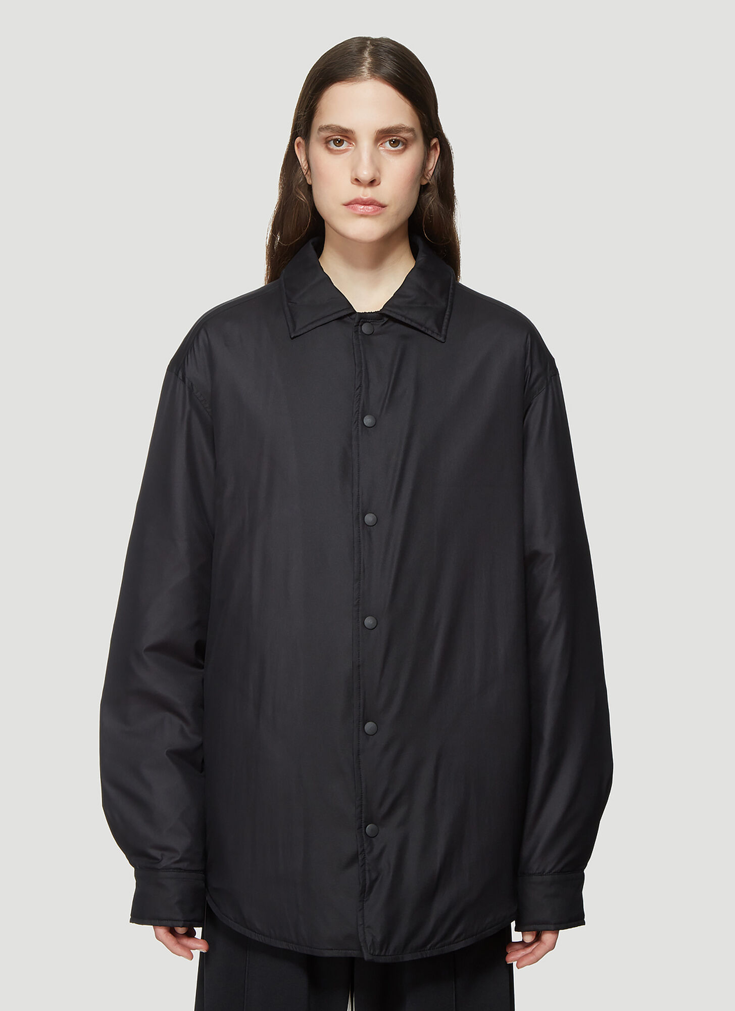Y-3 Adizero Padded Jacket in Black
