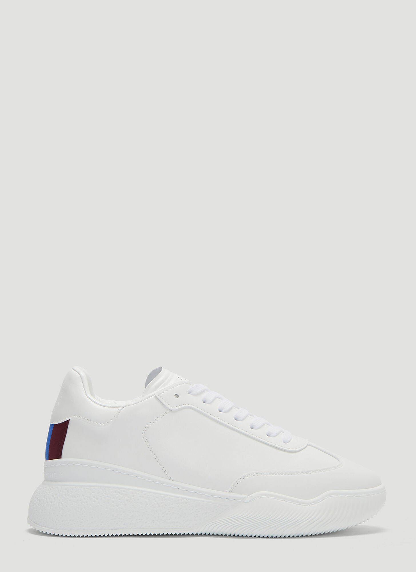 Stella McCartney Loop Faux Leather Sneakers in White