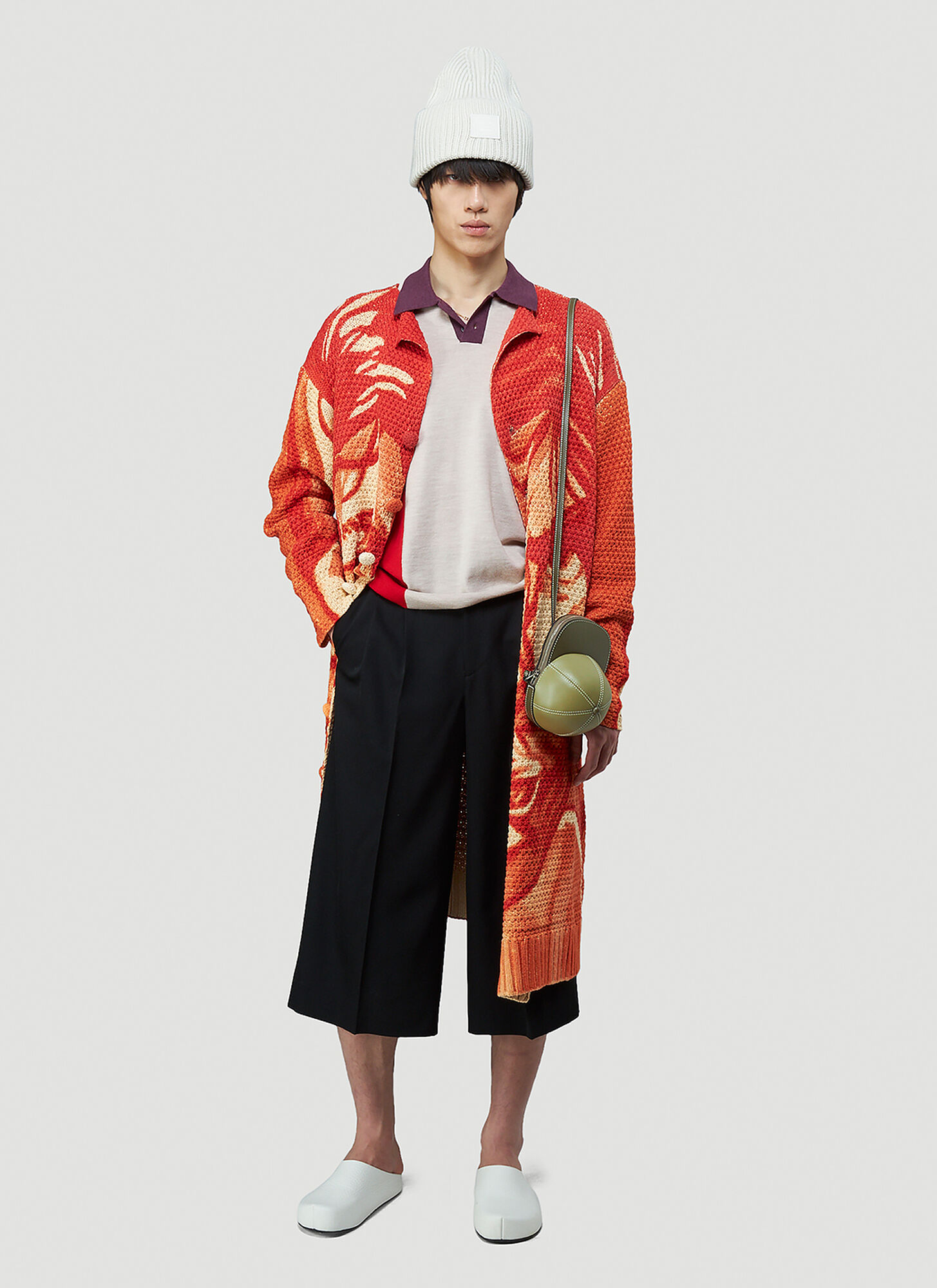 JW Anderson Cropped Straight-Leg Pants