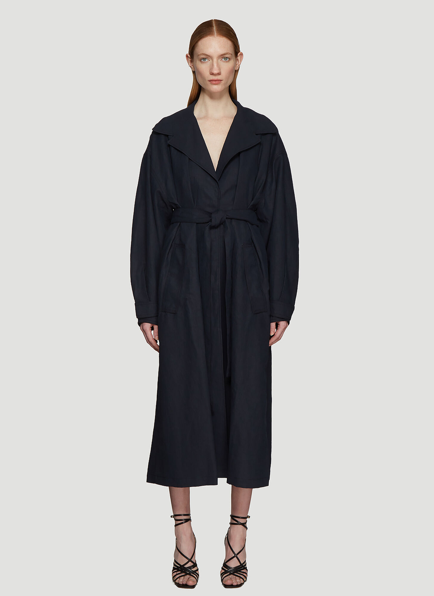 Jacquemus Le Manteau Claudia in Navy size FR - 34