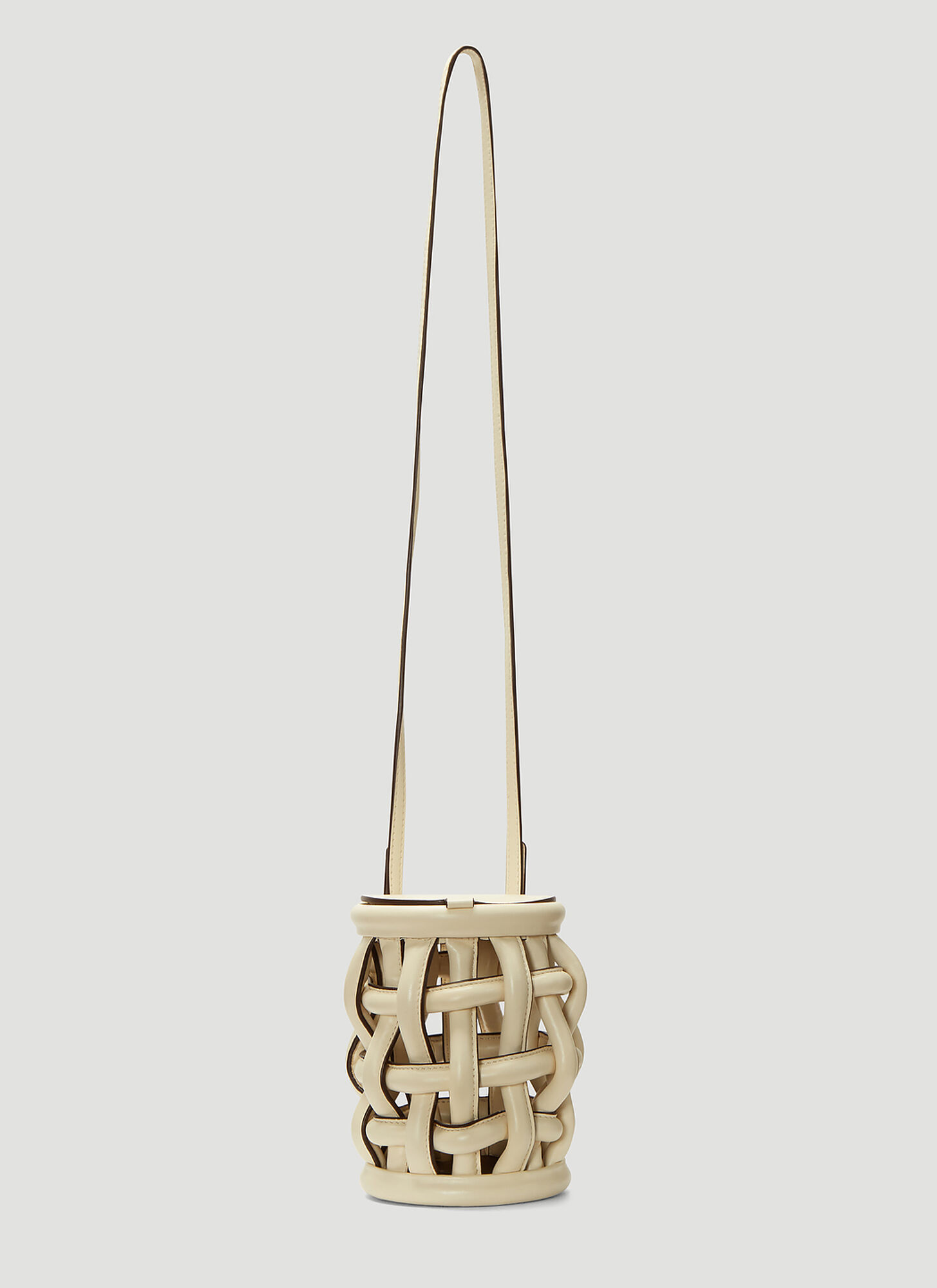 Danse Lente Coco Dove Bucket Bag in Cream