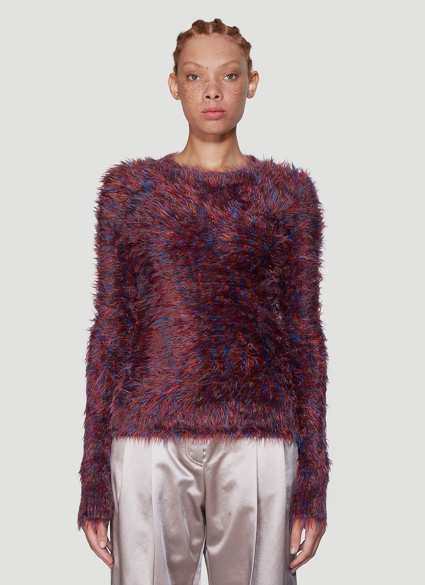 Sies Marjan Ange Crewneck Sweater in Purple